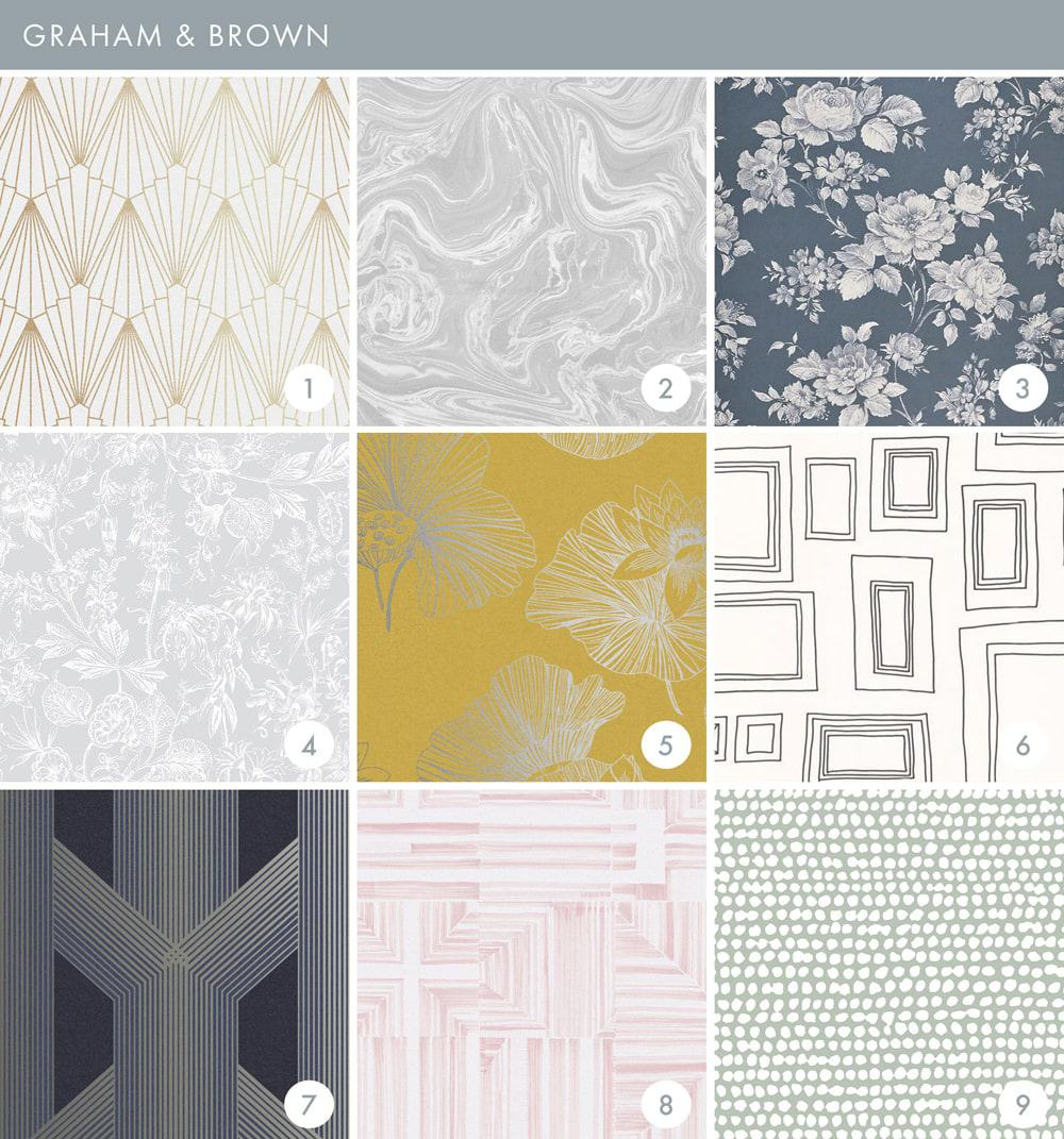 Emily Henderson Online Wallpaper Roundup Graham & Brown 1