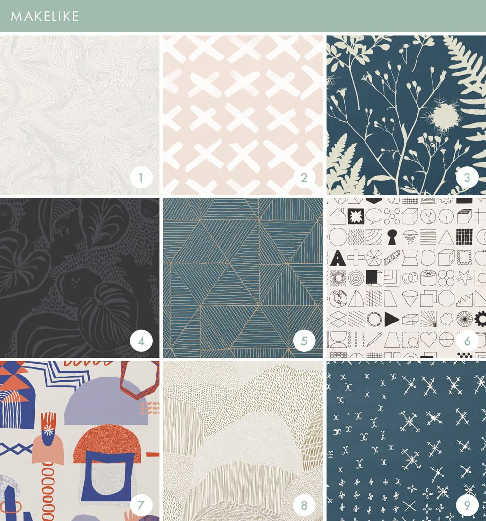 Emily Henderson Online Wallpaper Roundup Makelike 1