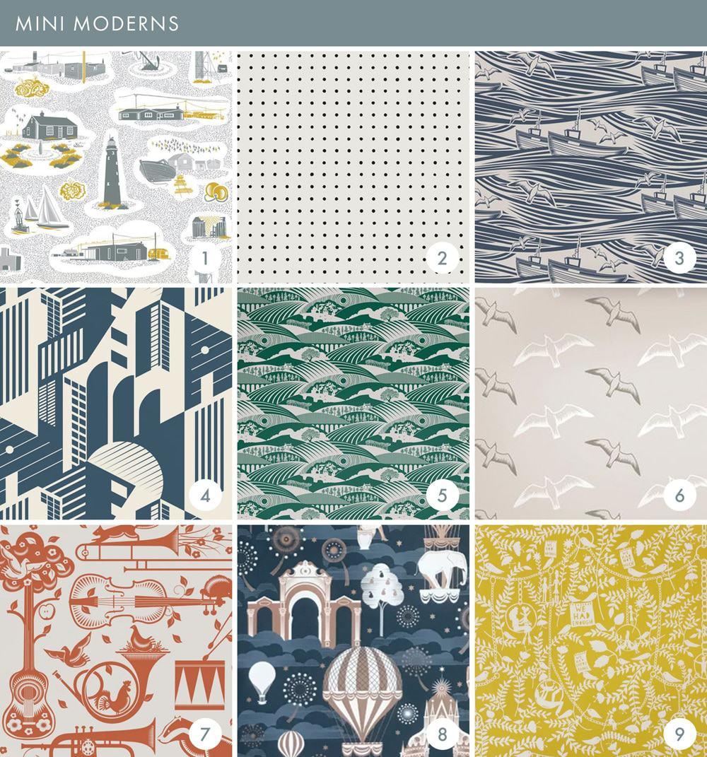 Emily Henderson Online Wallpaper Roundup Mini Modern 1