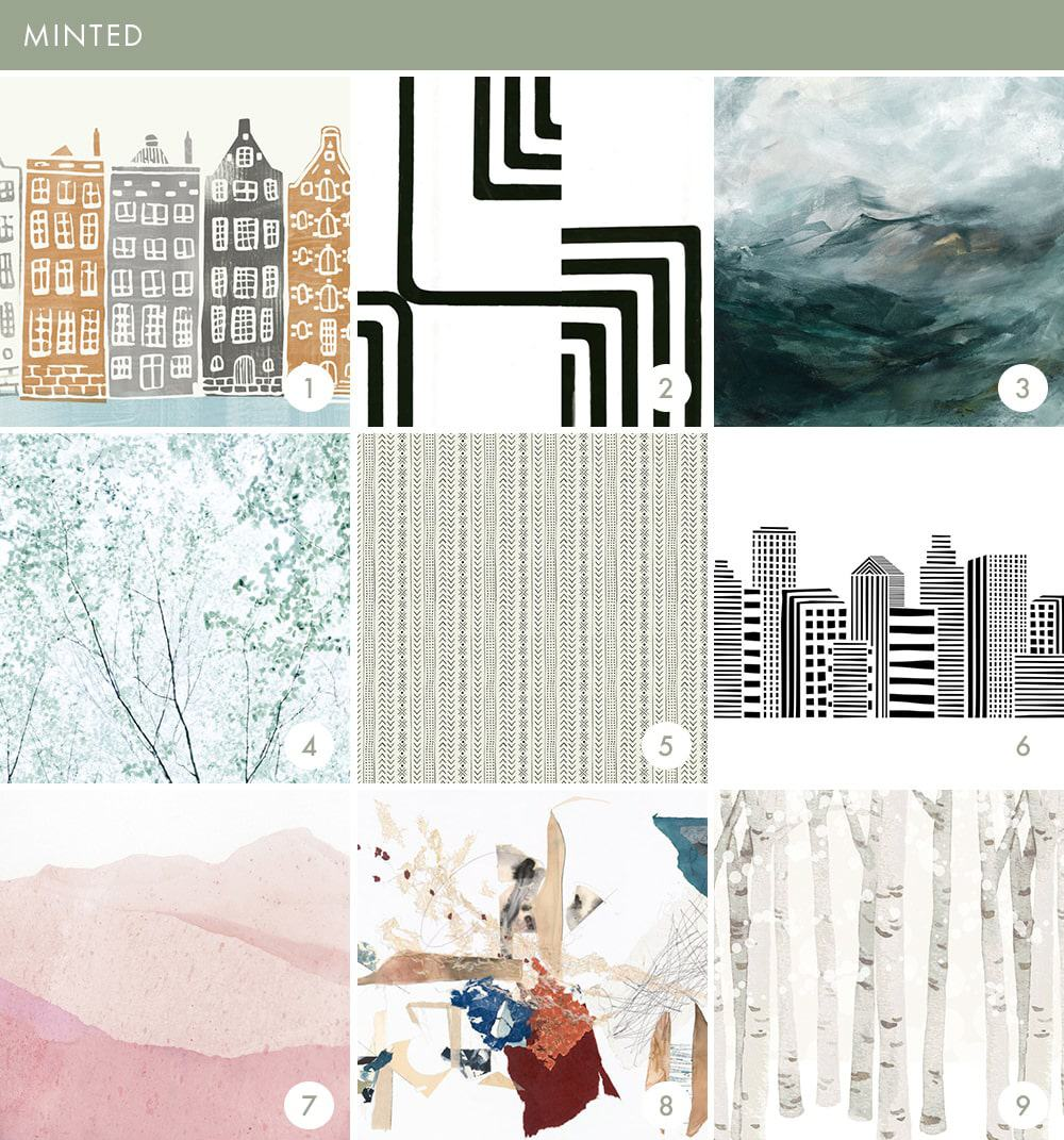 Emily Henderson Online Wallpaper Roundup Minted