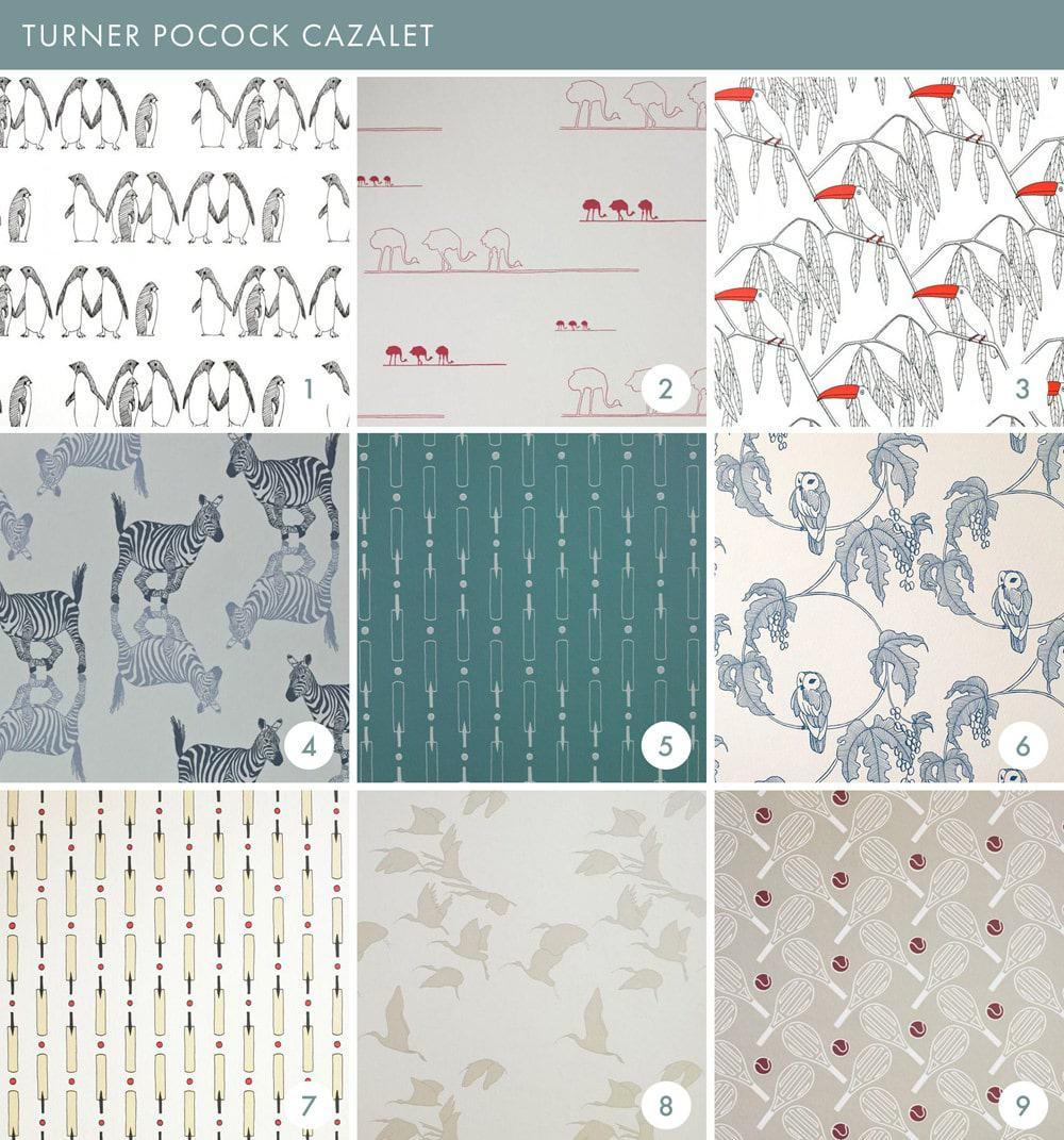 Emily Henderson Online Wallpaper Roundup Turner Pocock Cazalet 1