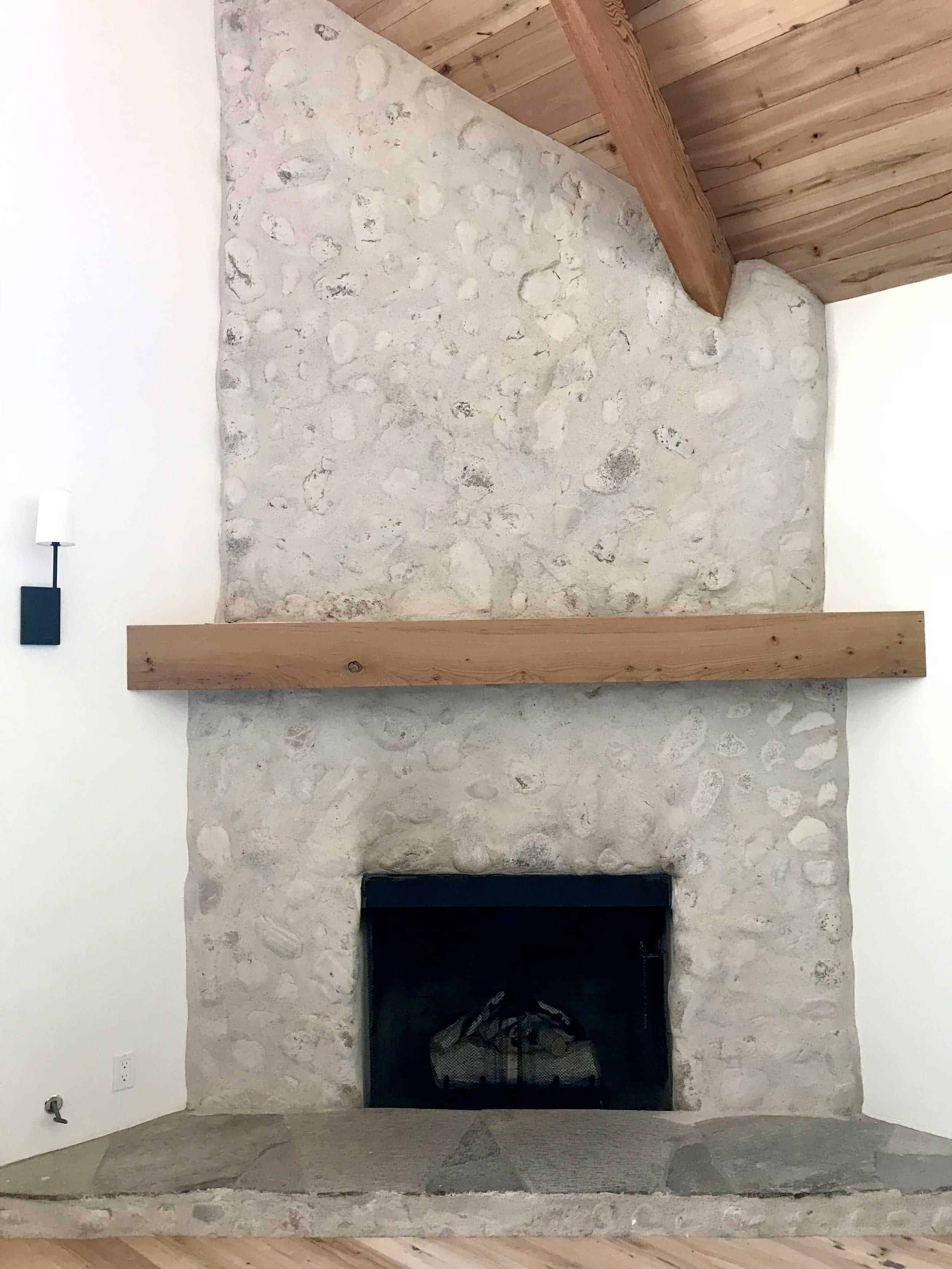 Fireplace Schmear