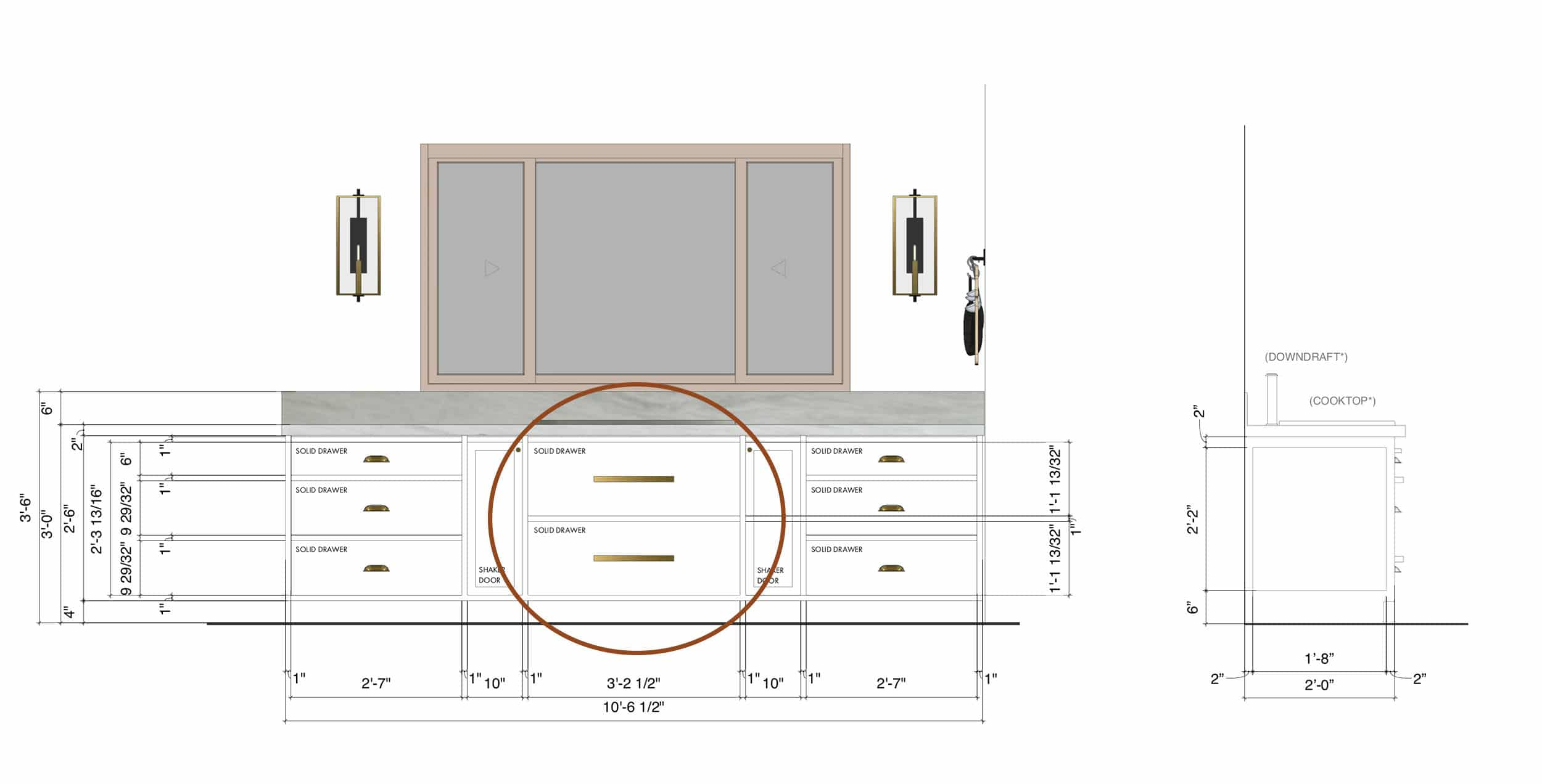 Ehd For Blog 5 Things We Didn't Know Kitchen Downdraft Drawers 1