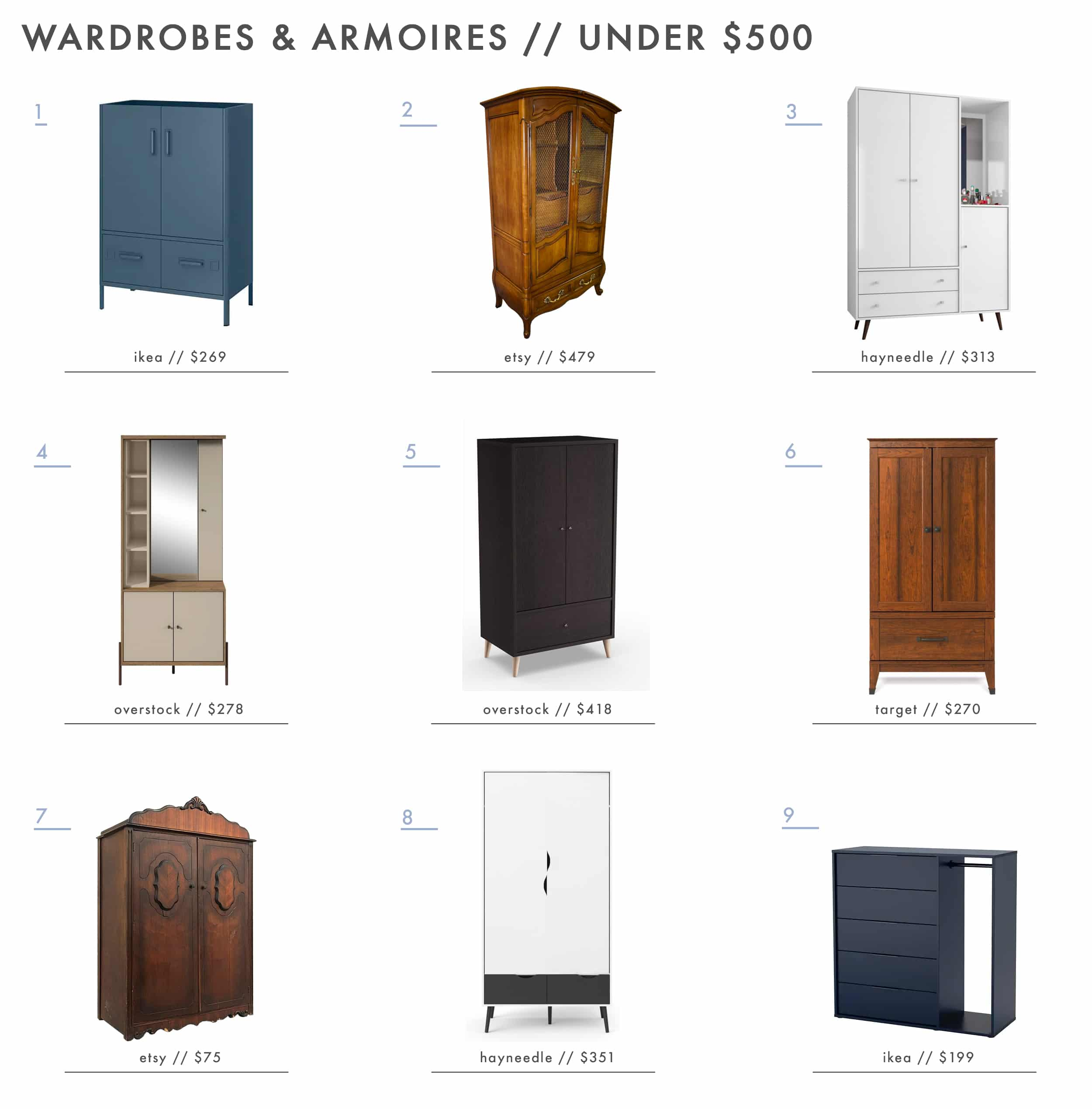 Why You Should Be Using Armoires In Every Room All The Best Shopping Picks