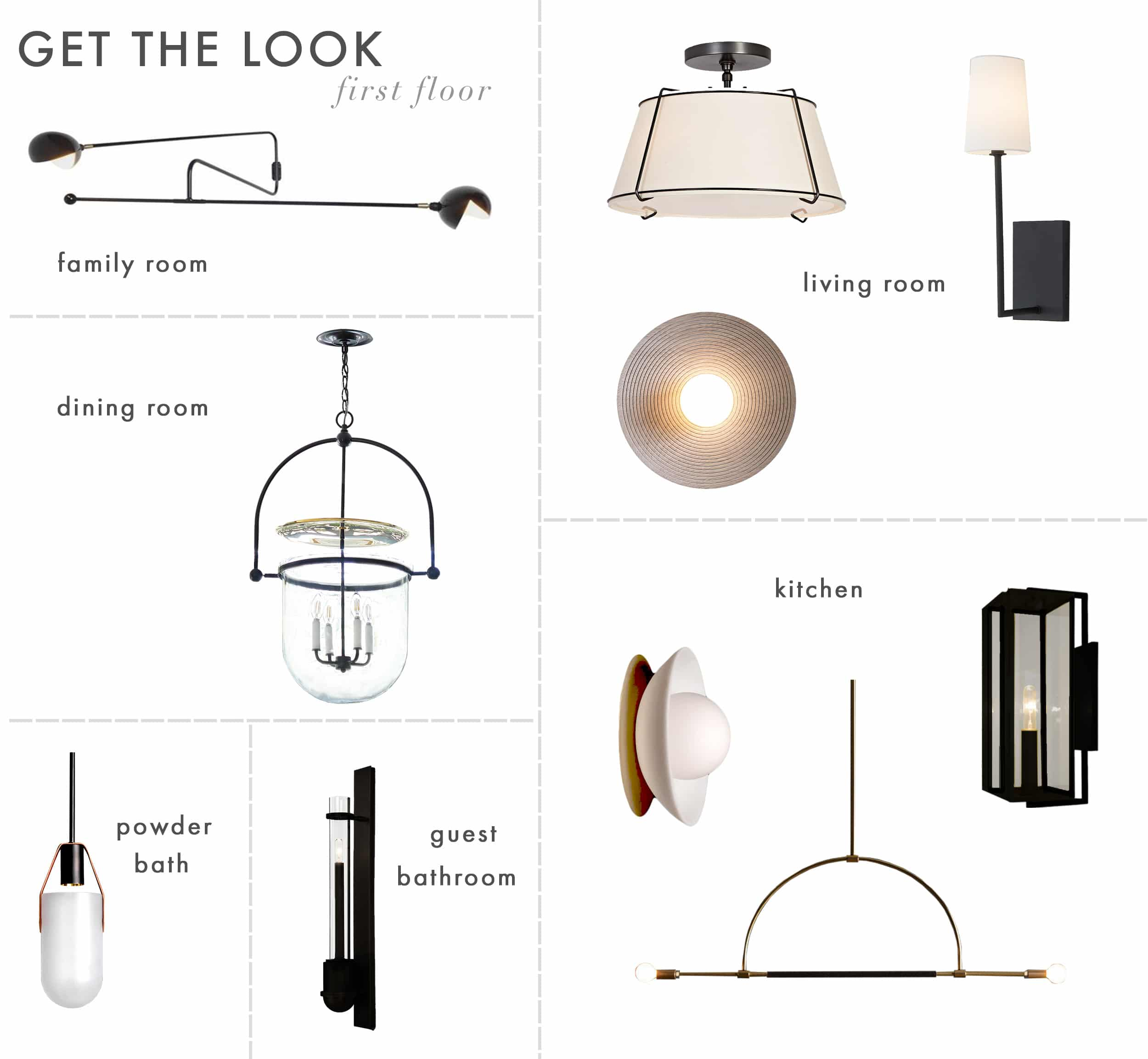 Get The Look Mh Lighting First Floorgrid 1
