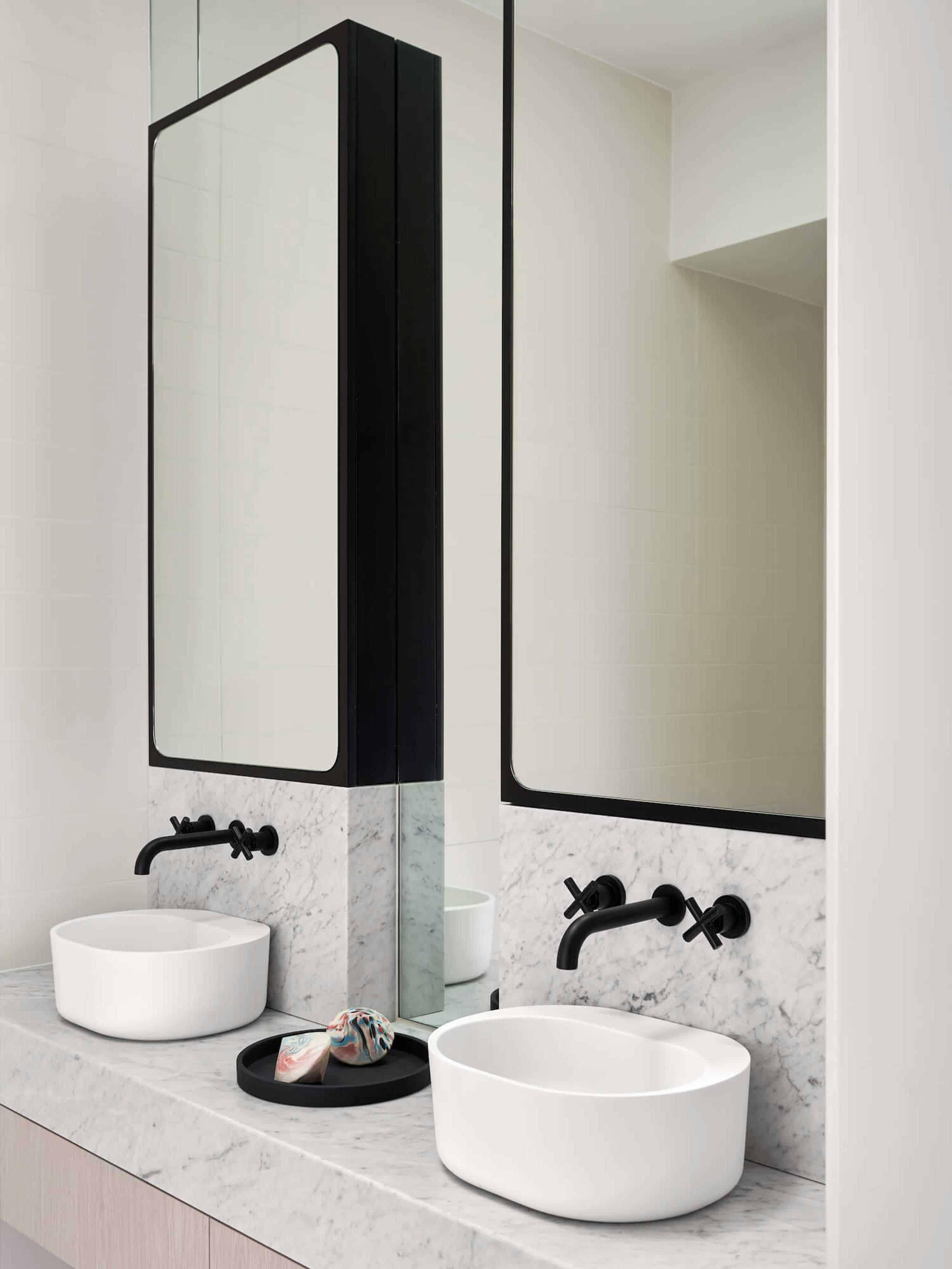 Why Designers Hate Most Medicine Cabinets Some Genius Alternative Bathroom Storage Solutions Emily Henderson