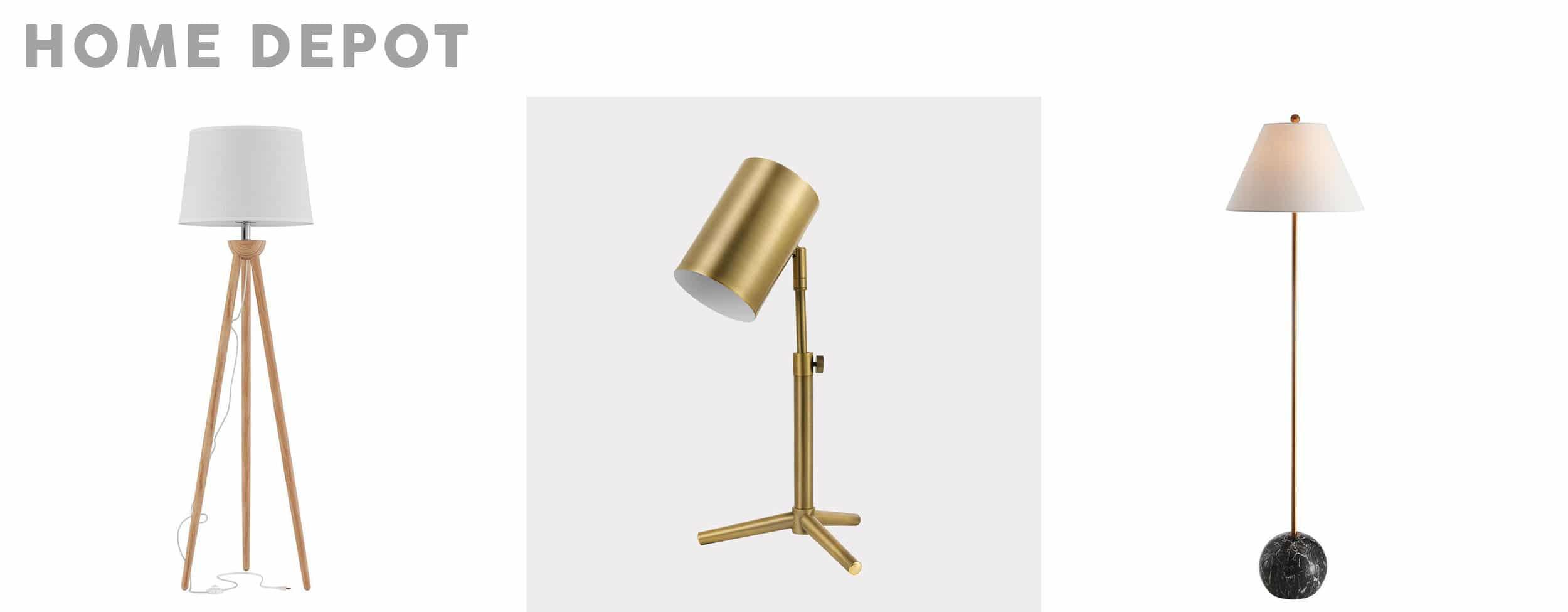 Emily Henderson affordable living room lighting_8