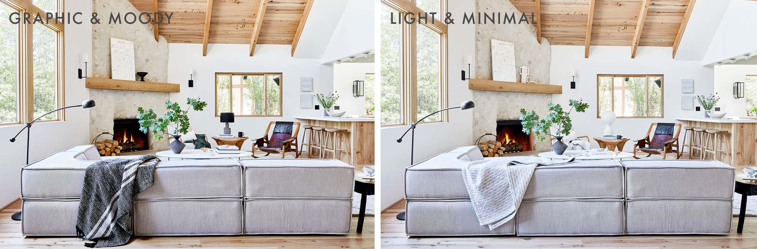 Emily Henderson House Beautuful Styling Side By Side 1 1