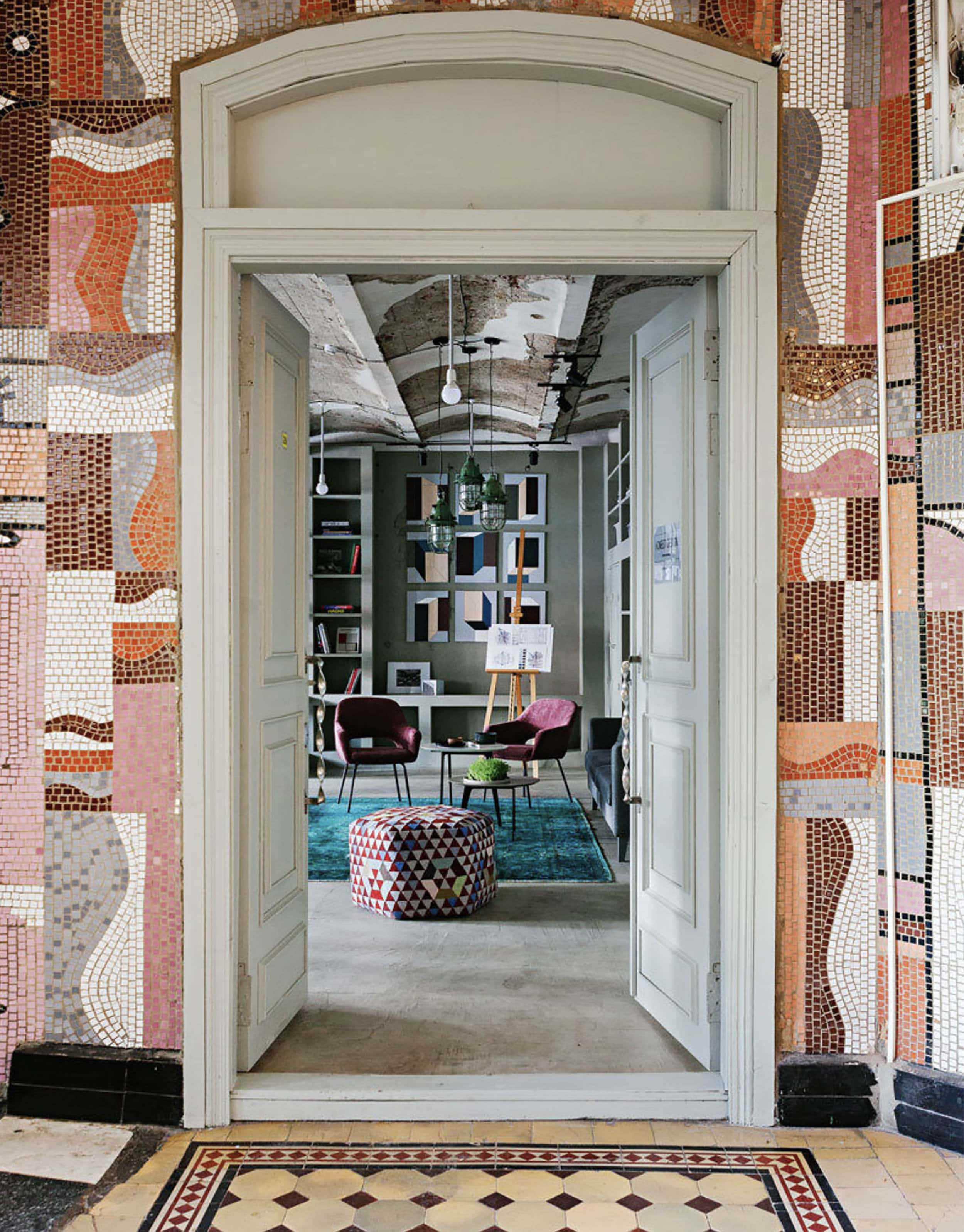 Emily Henderson Mosaic Tile Inspo 11