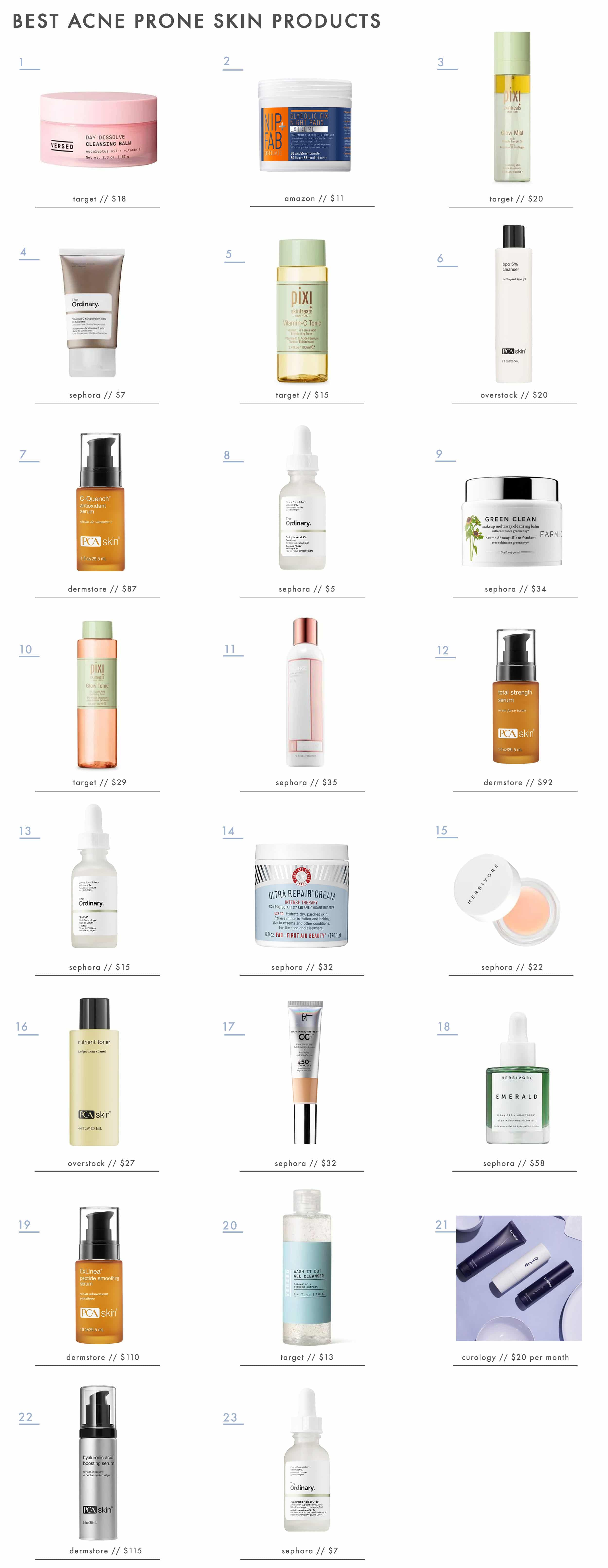 Emily Henderson Sara Beauty Skincare Product Roundup