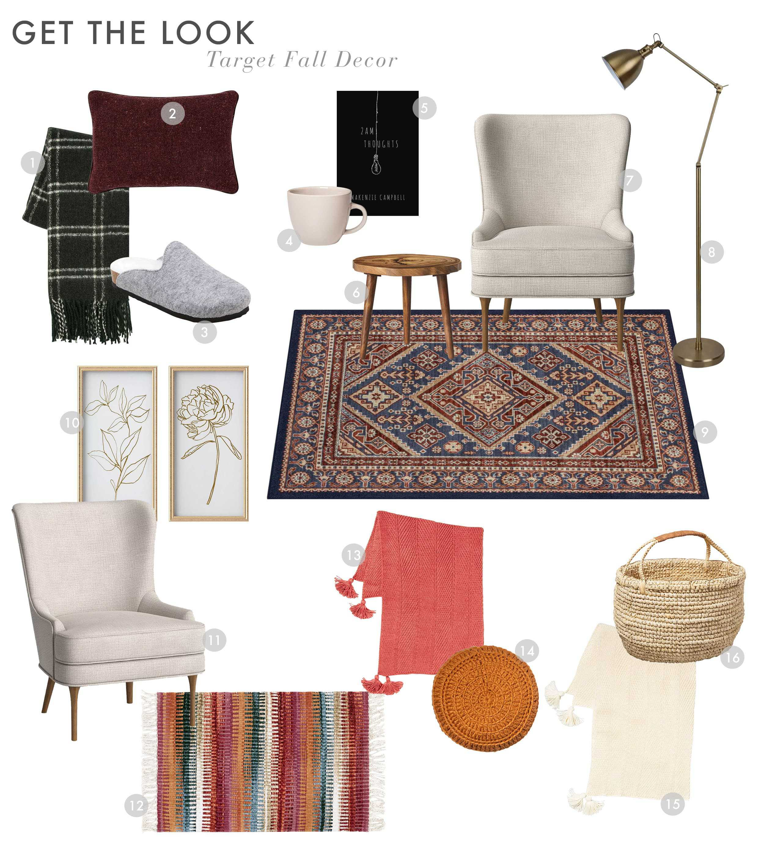 Emily Henderson Target Fall 2019 Fall Decor Reading Gtl