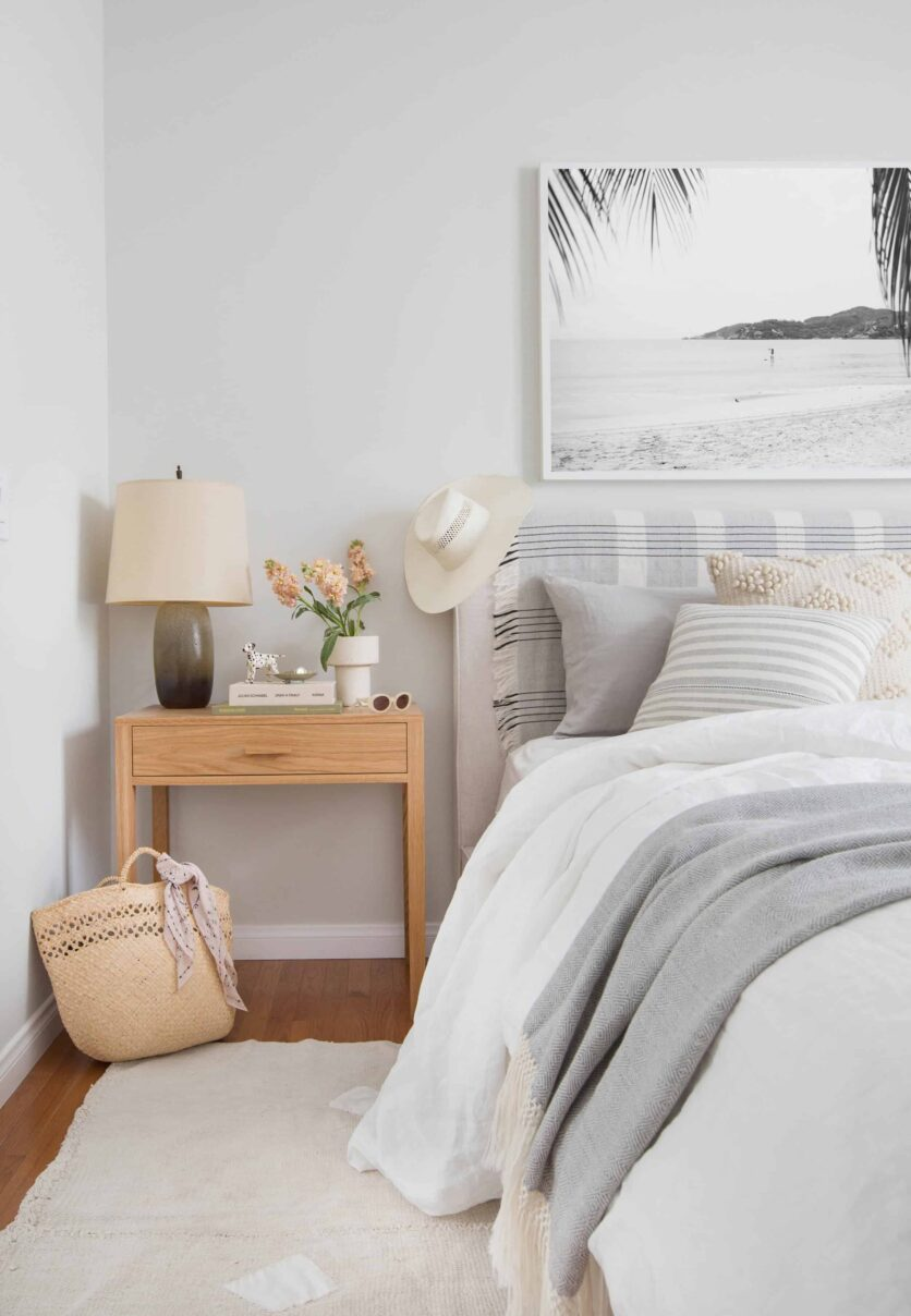 Emily Henderson The Citizenry 1 Bed 4 Ways Textiles Global Eclectic Boho Western Modern Bedroom Bed Minimal 1