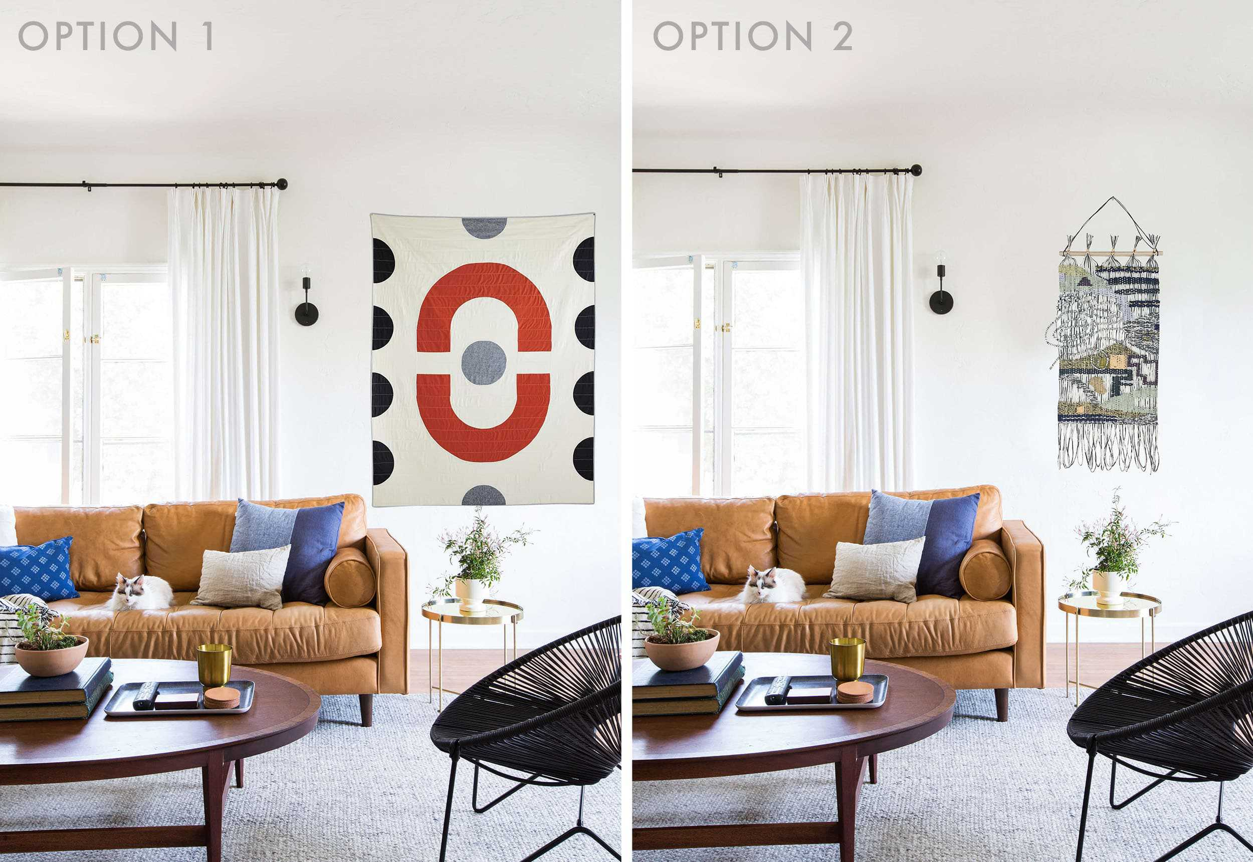 Emily Henderson Wall Hangings Sara Side By Side