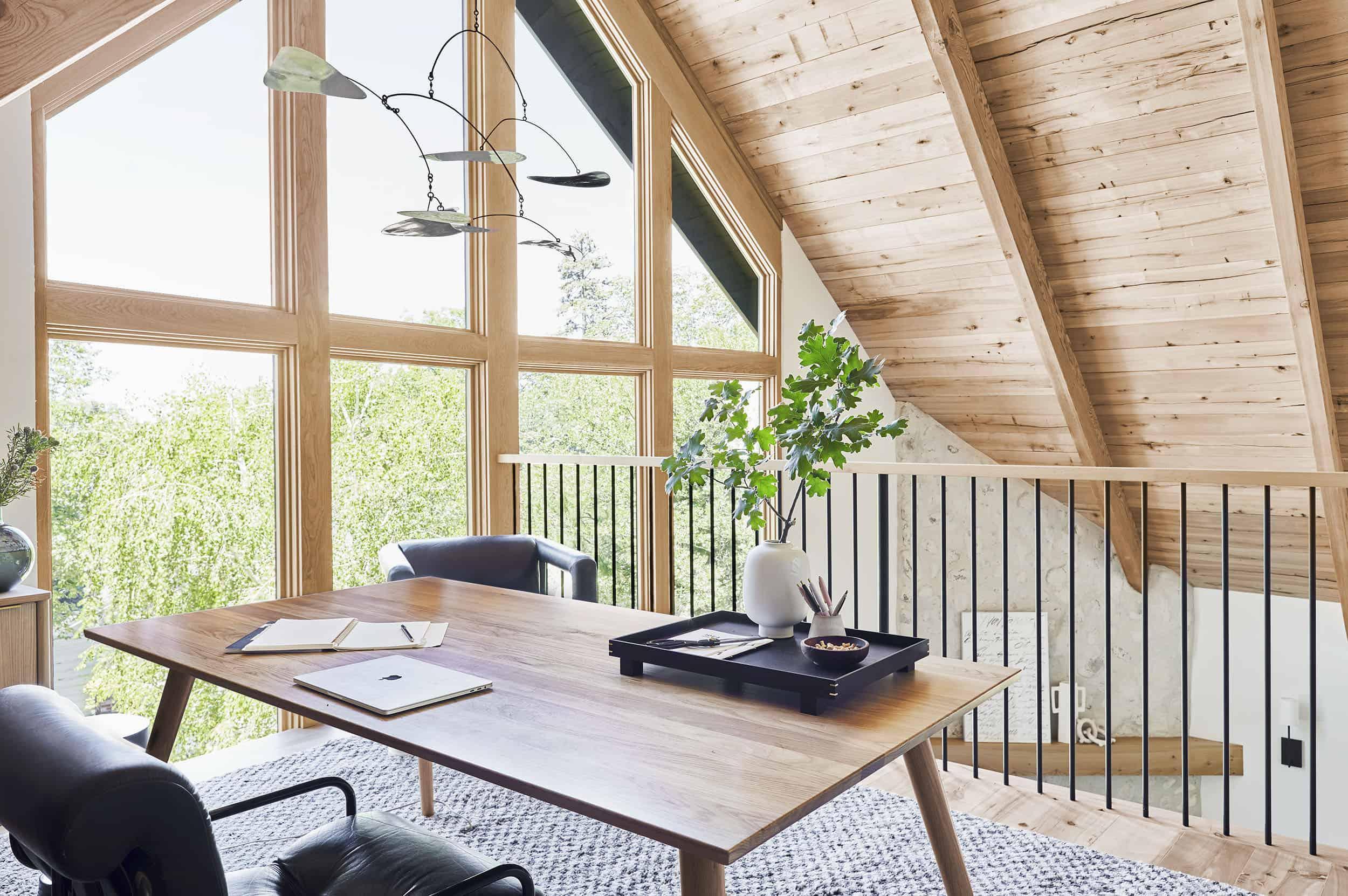 Emily Henderson Mountain House Home Office Loft10