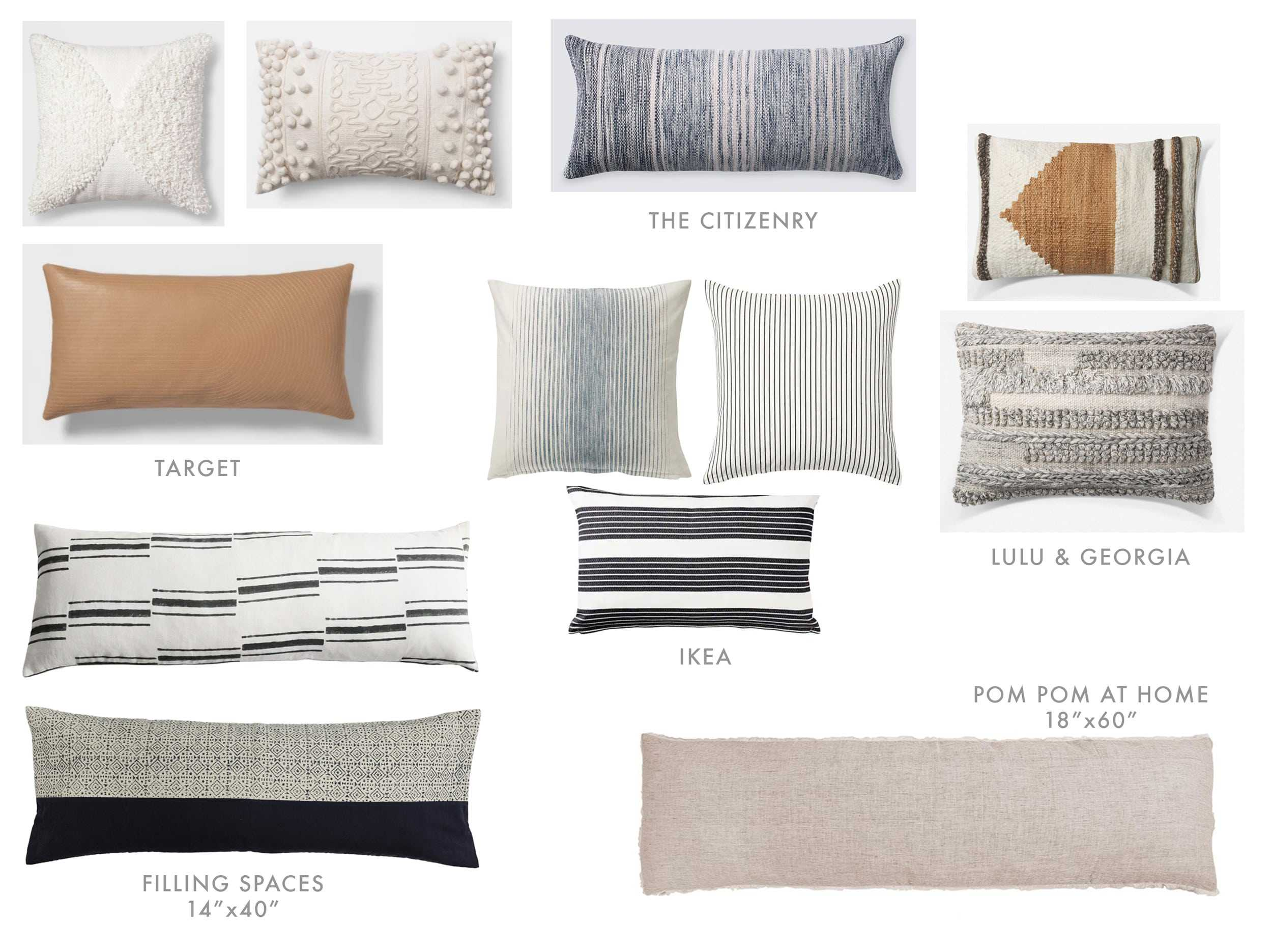 Velux Accessories Options Pillows