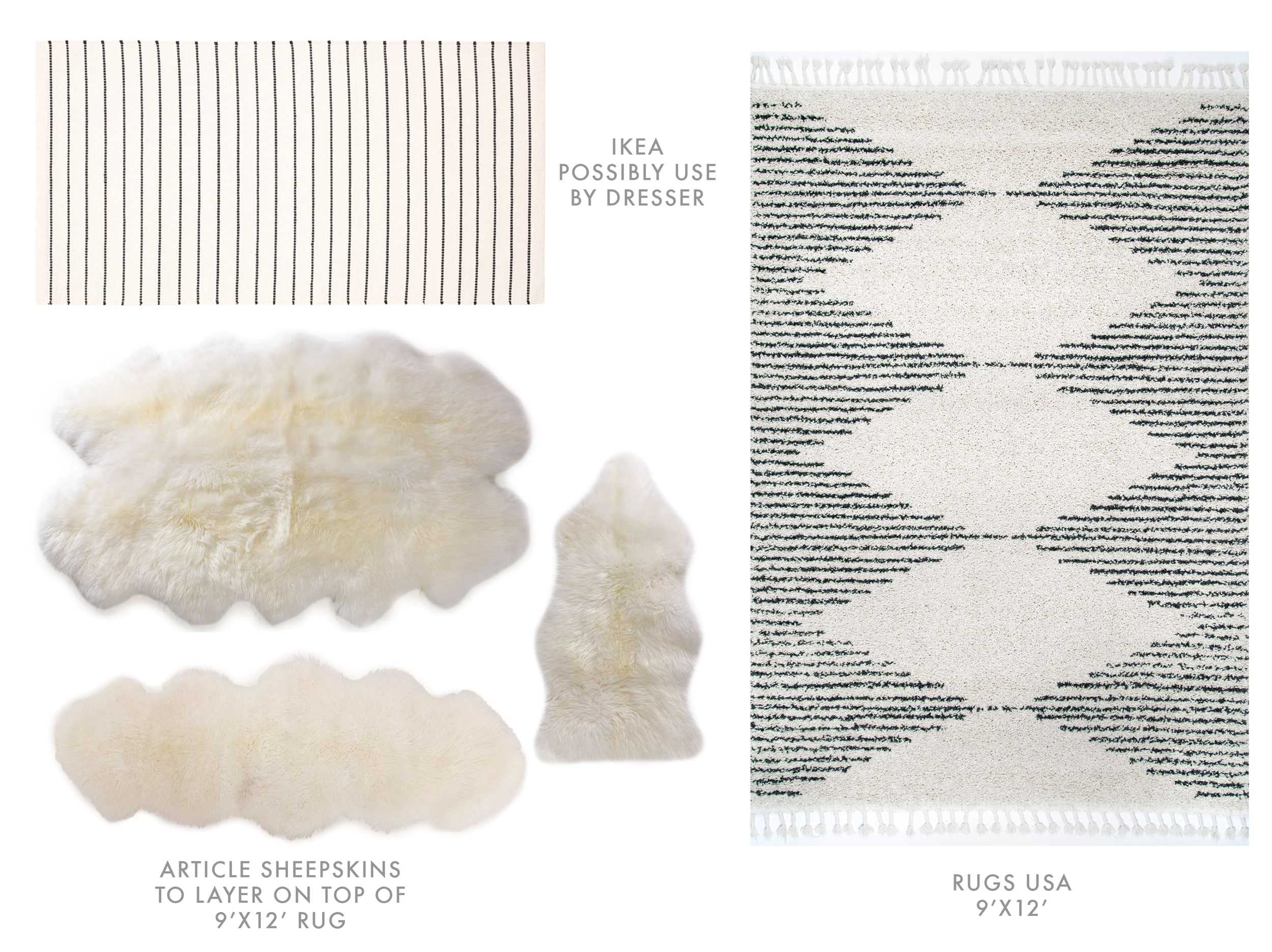 Velux Accessories Options Rugs