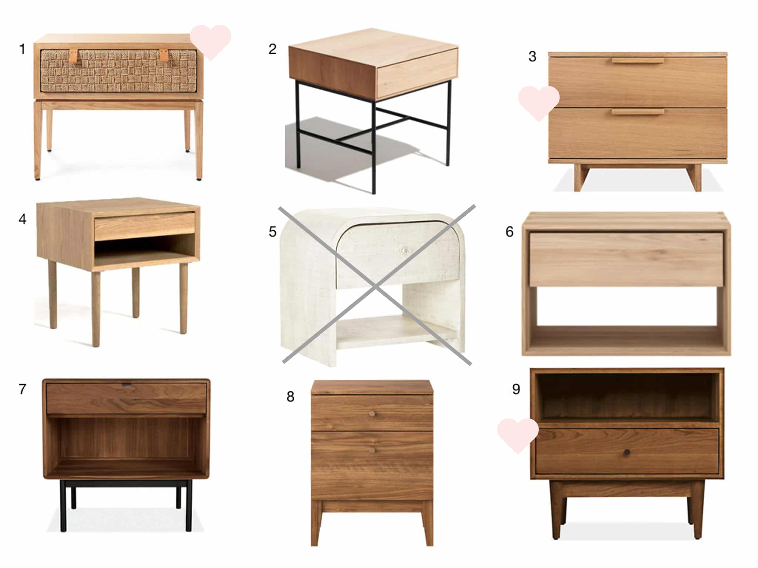 Velux Furniture Options With Hearts 4