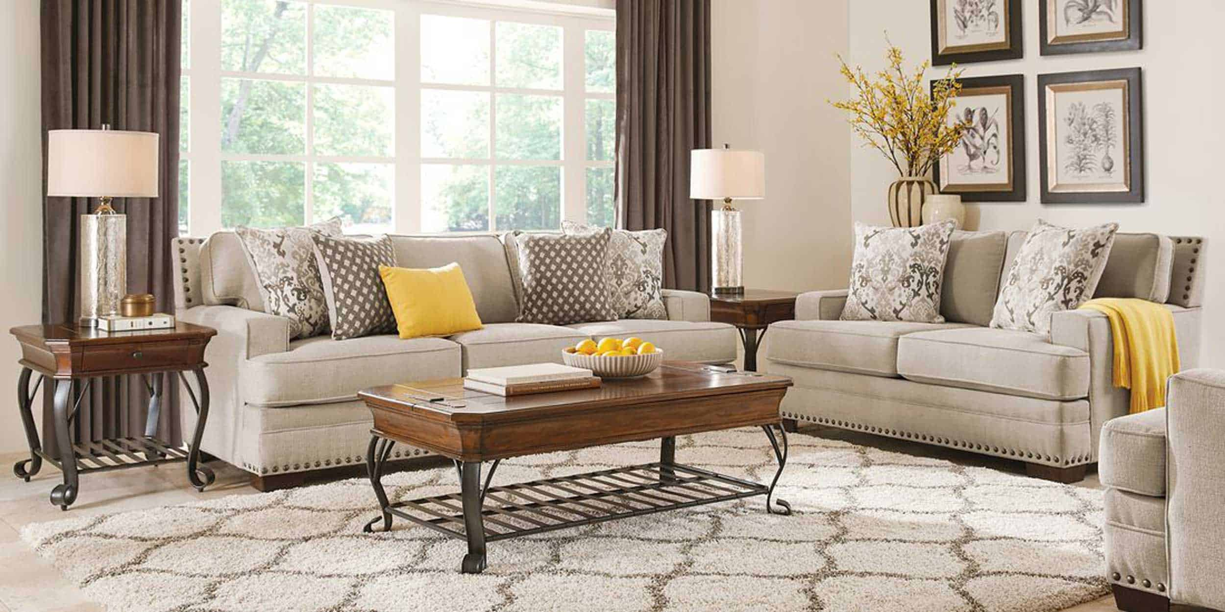 Belhaven Beige 2 Pc Living Room 1101020p Image Room