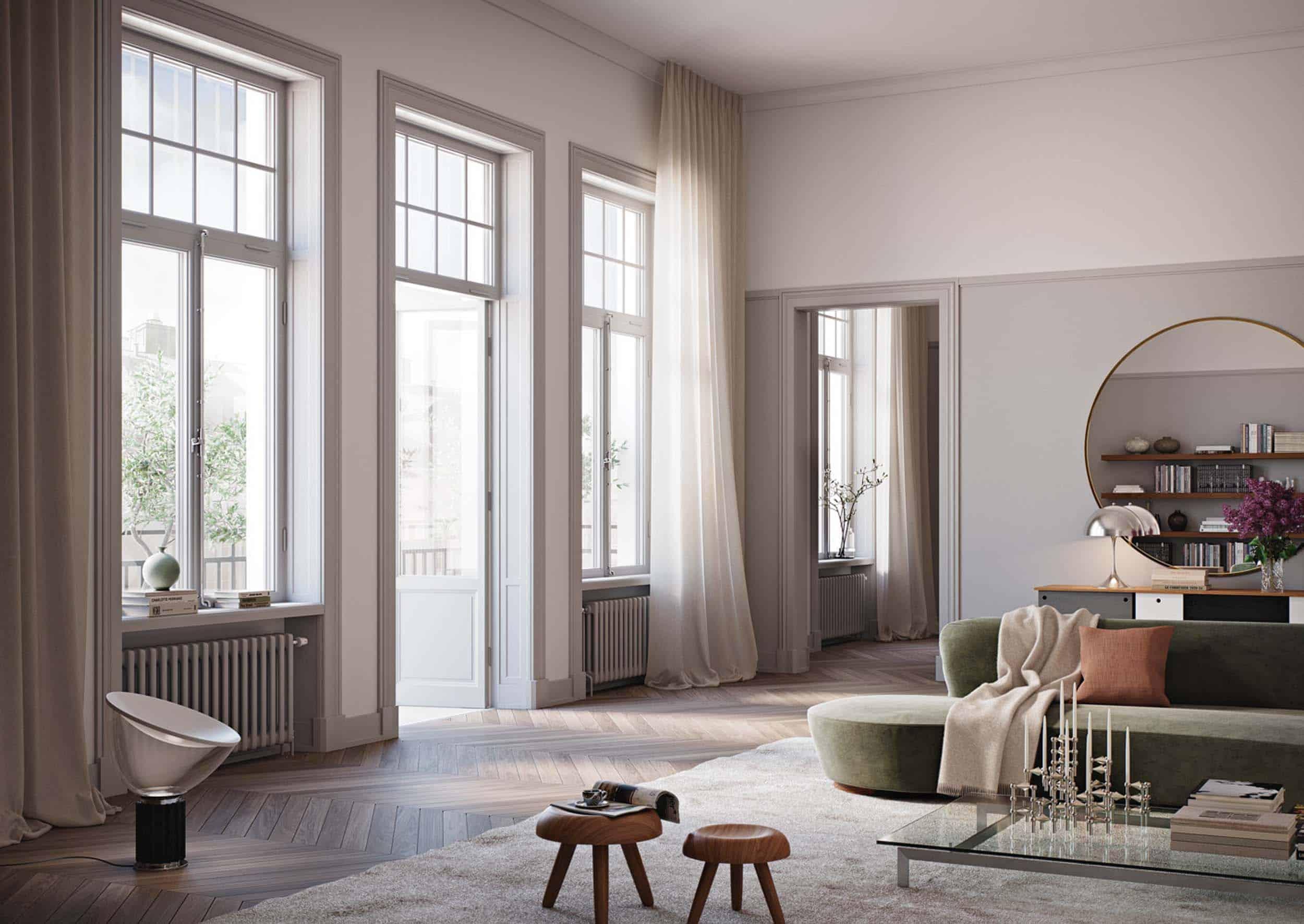 1 Riddaren Livingroom