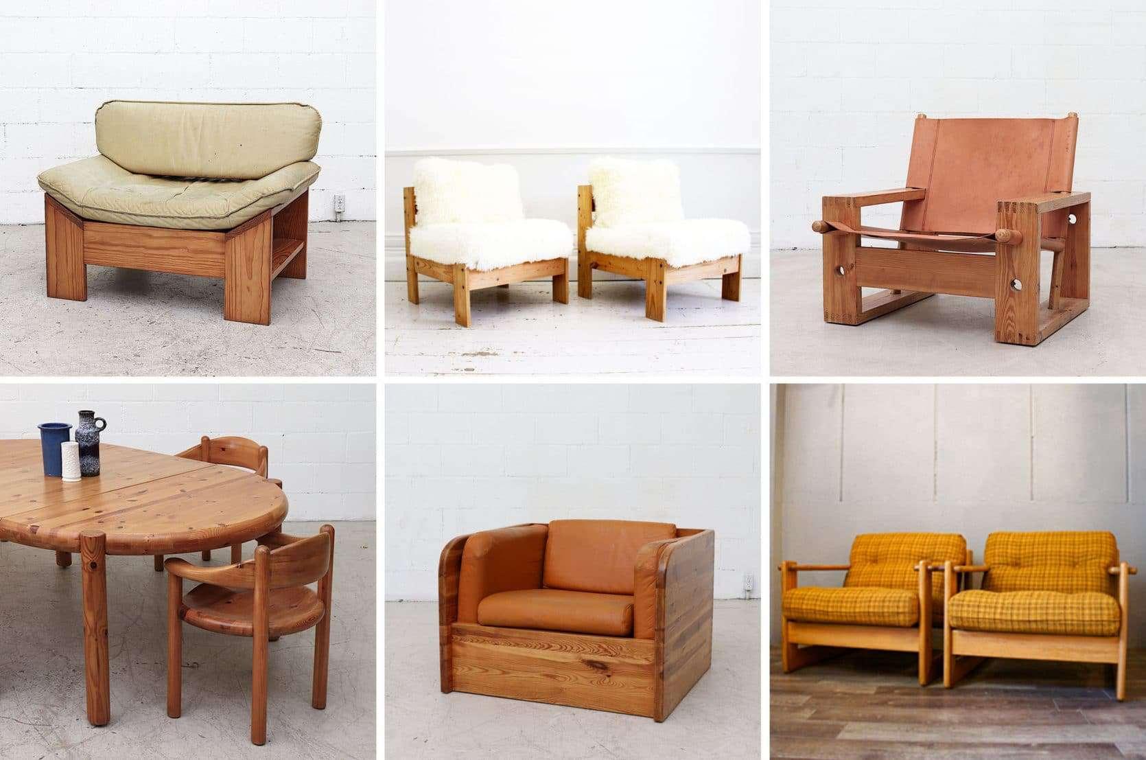 Emily Henderson Trends 70s Pine Furnitureroundup