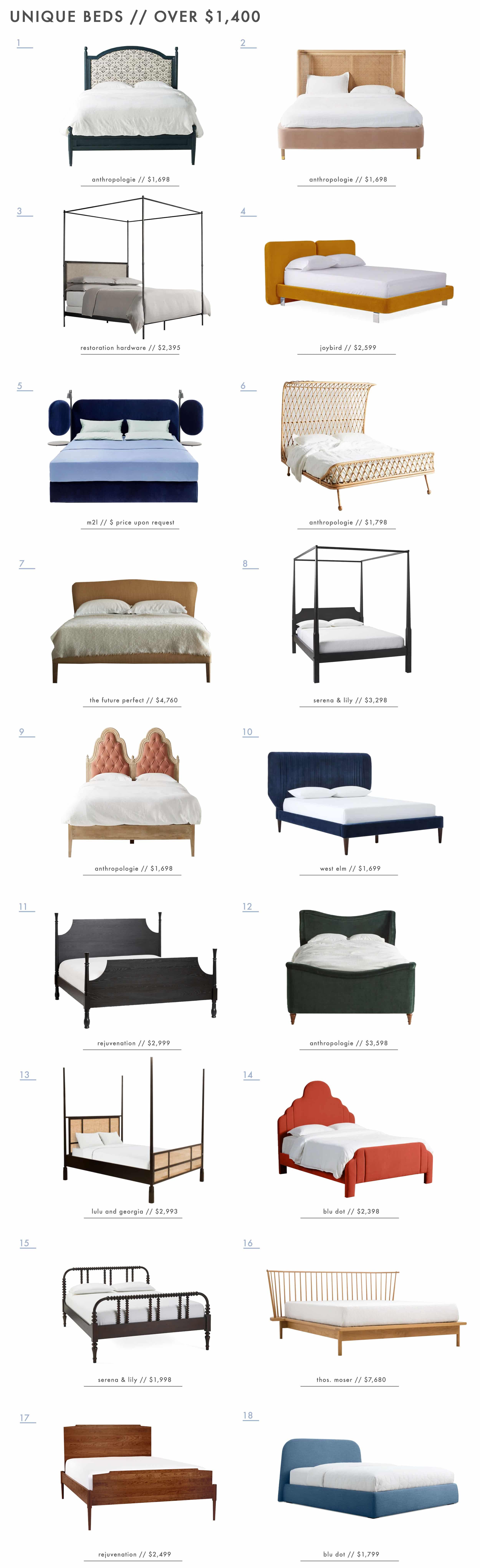 Emily Henderson Unique Beds 2 Roundup