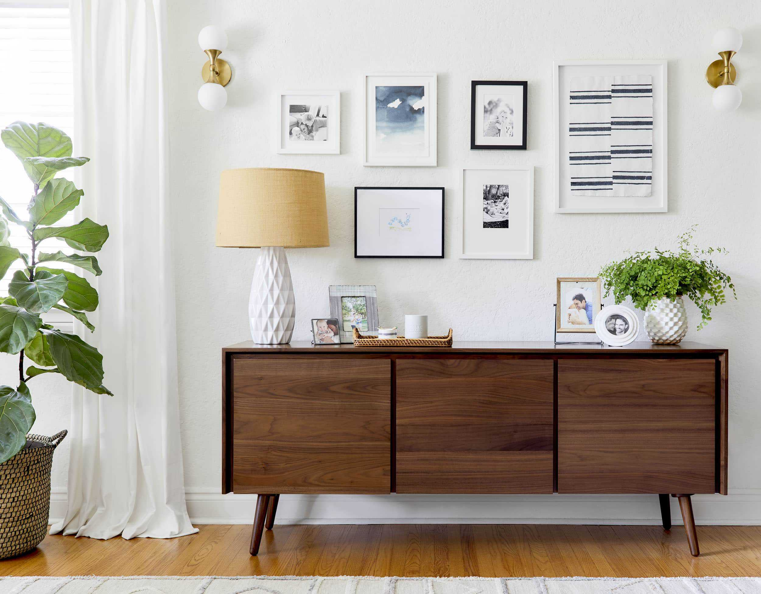 How To Style A Family Credenza 1