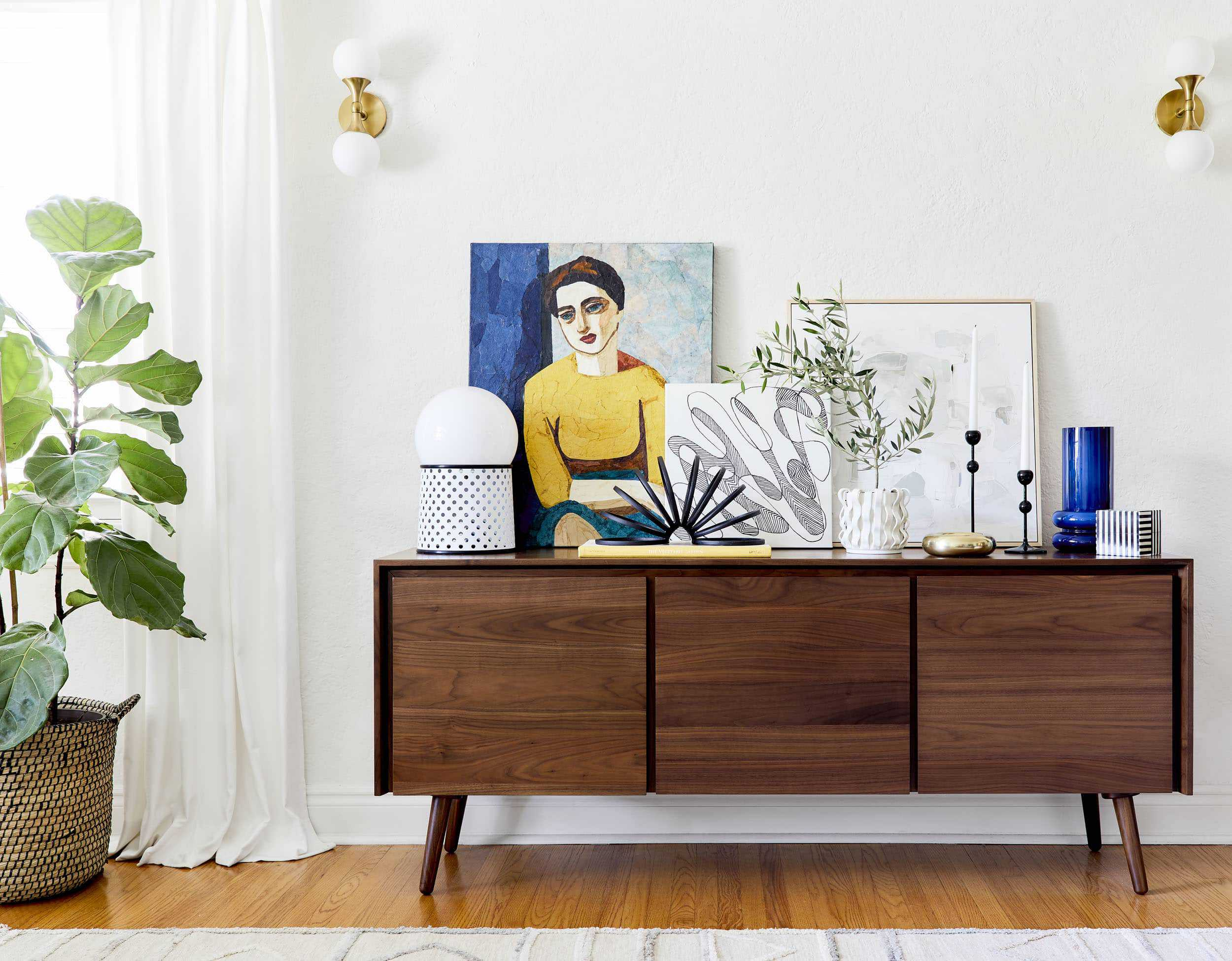 How To Style A Post Modern Credenza 1