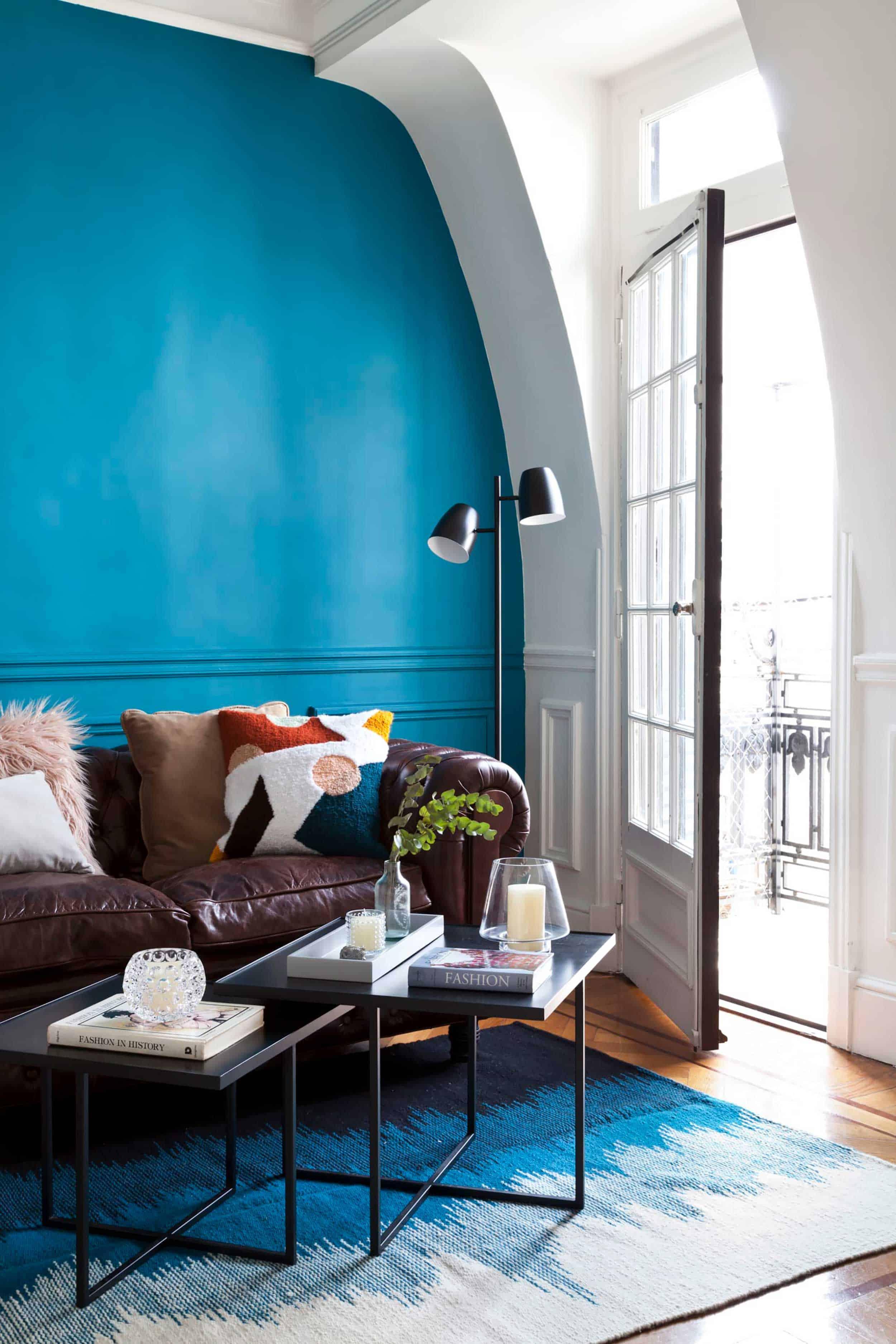Emily Henderson Accent Walls Via Apartment Therapy Design By Ligia Baleeiro