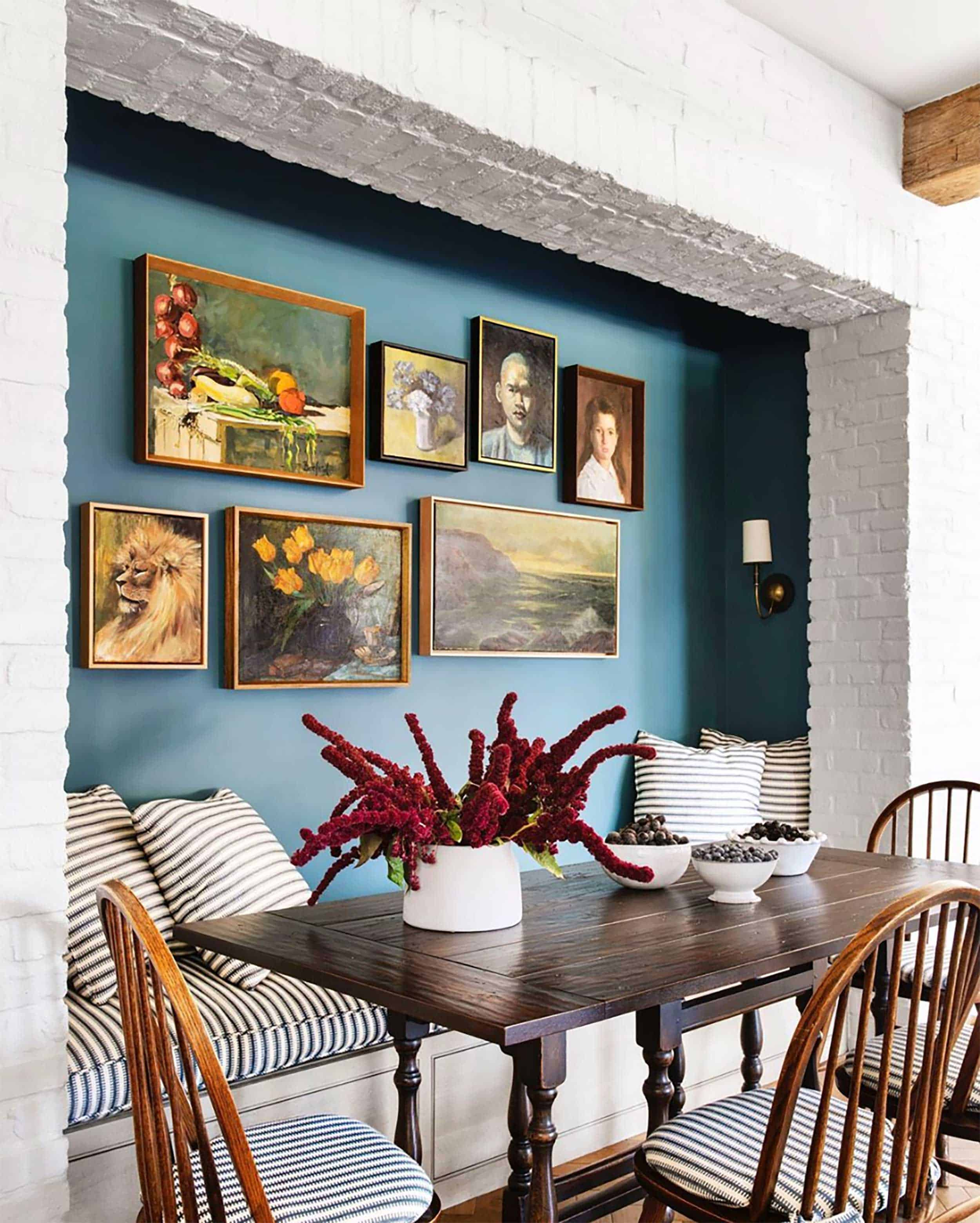 Emily Henderson Accent Walls via House Beautiful