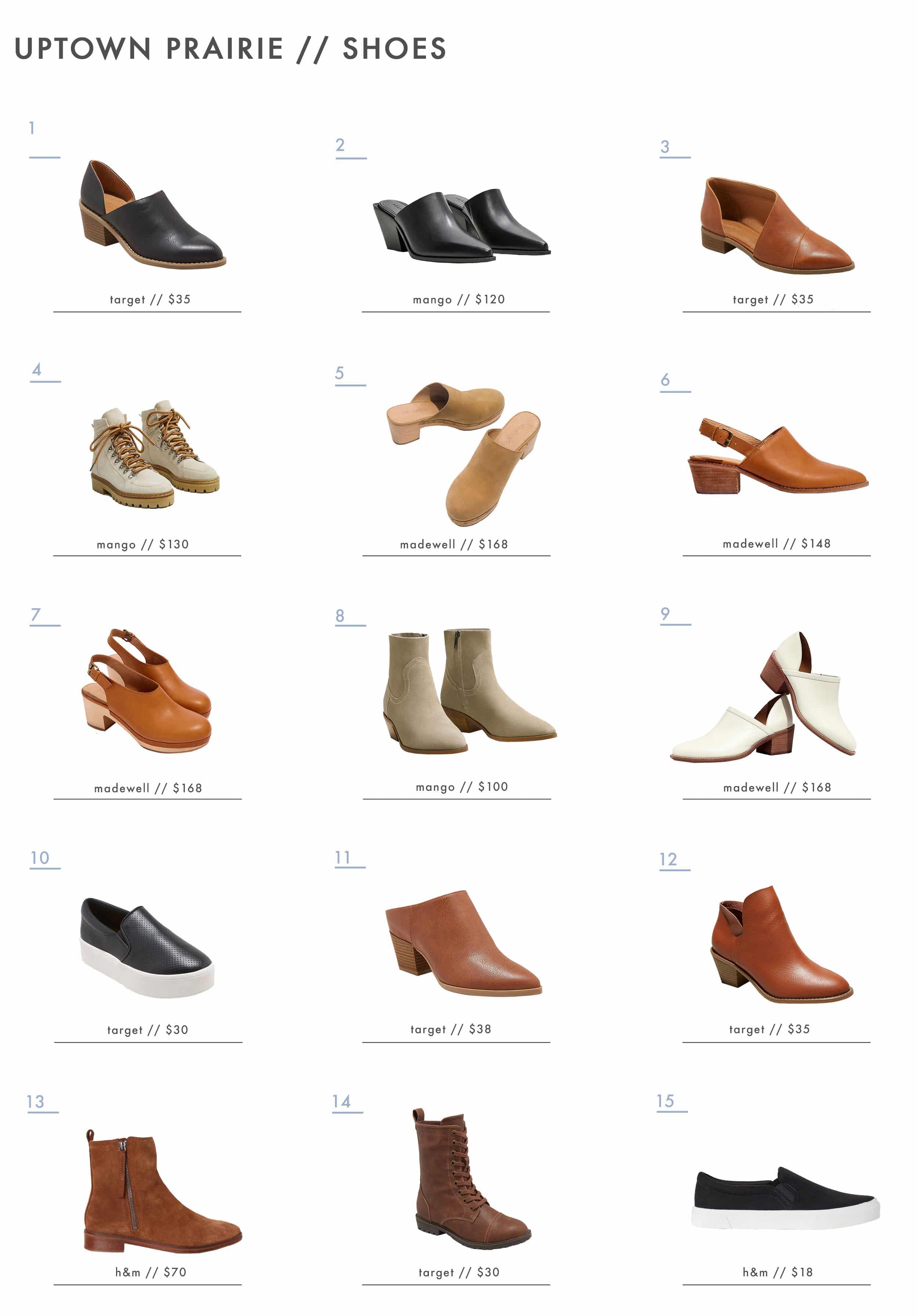 Emily Henderson Affordable Prairie Fashion Trend Shoes