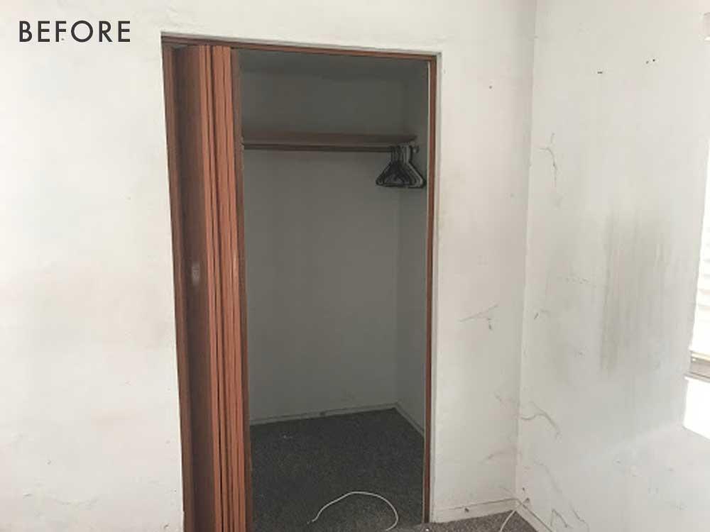 Accordian Door Closet