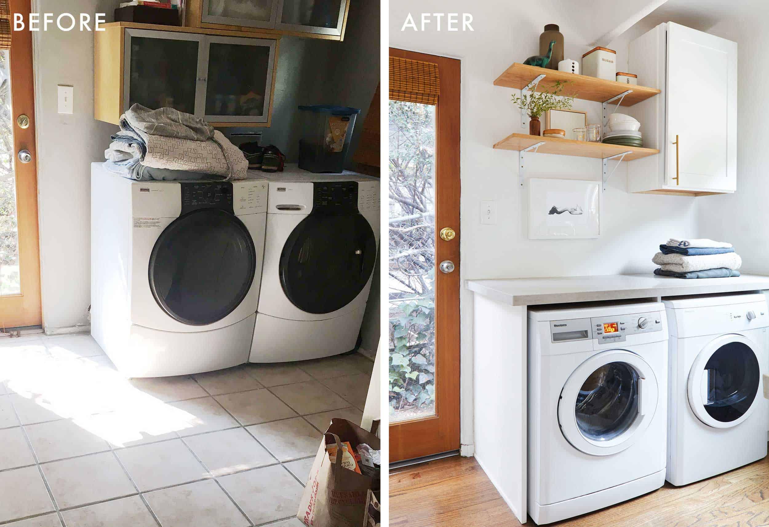 Laundry Room B&a