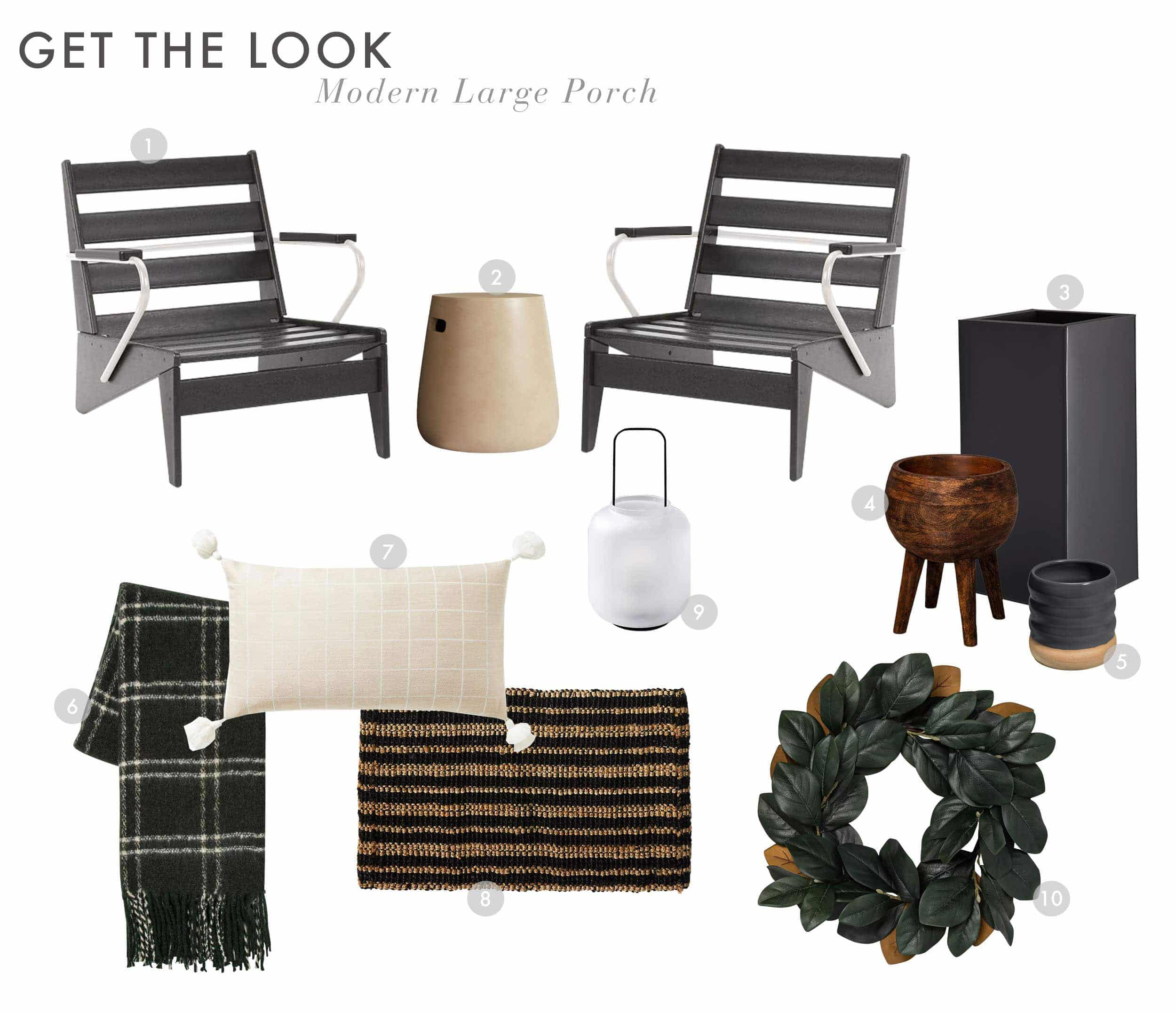 Emily Henderson Curb Appeal Large Modern