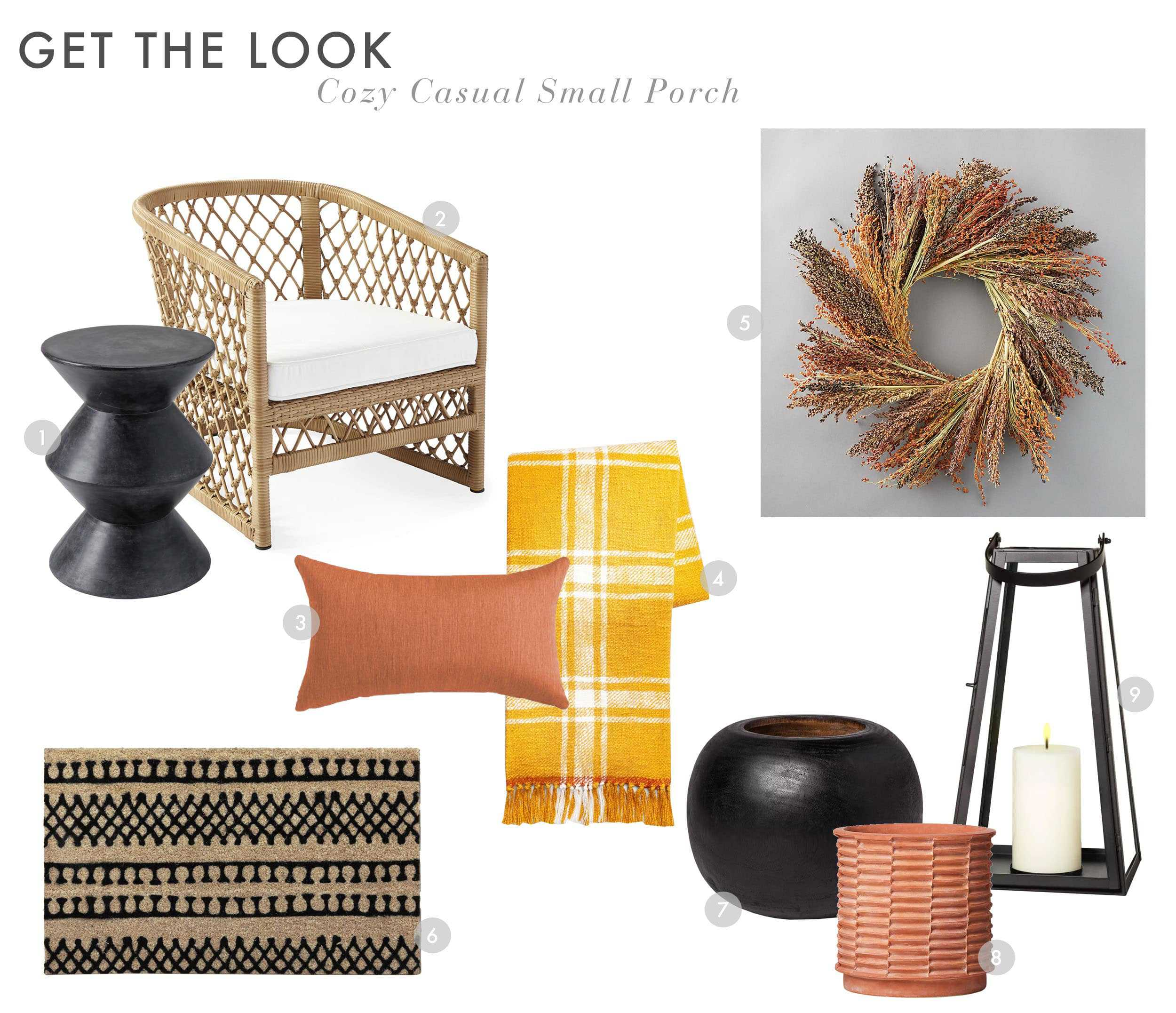 Emily Henderson Fall Curb Appeal Medium Eclectic