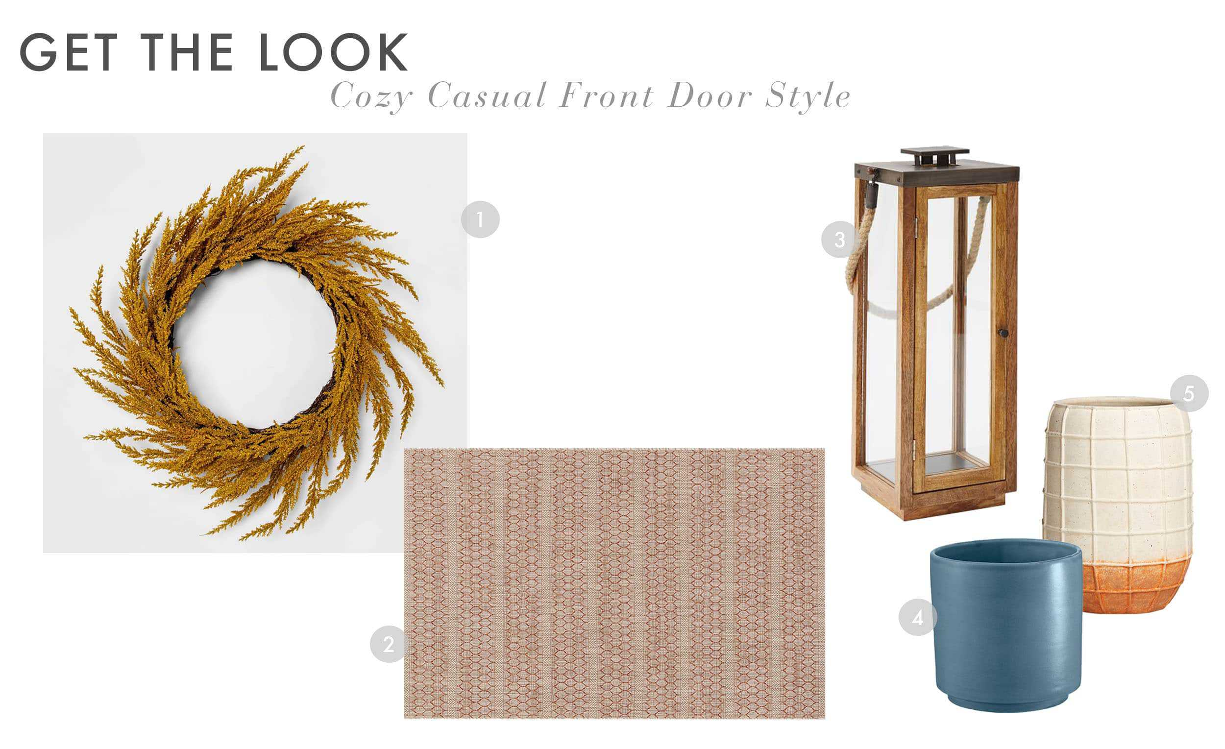 Emily Henderson Fall Curb Appeal Small Eclectic