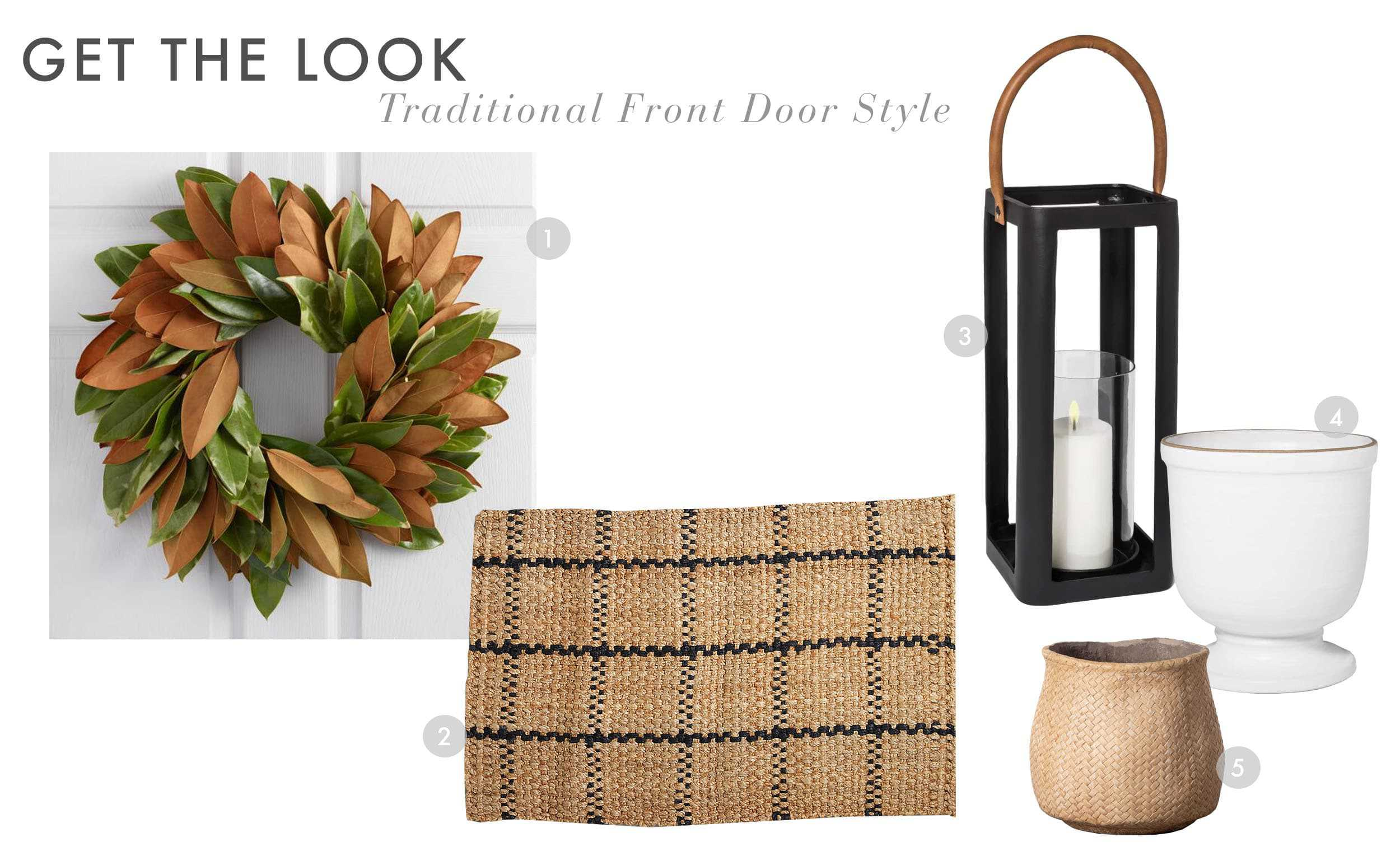 Emily Henderson Fall Curb Appeal Small Traditional