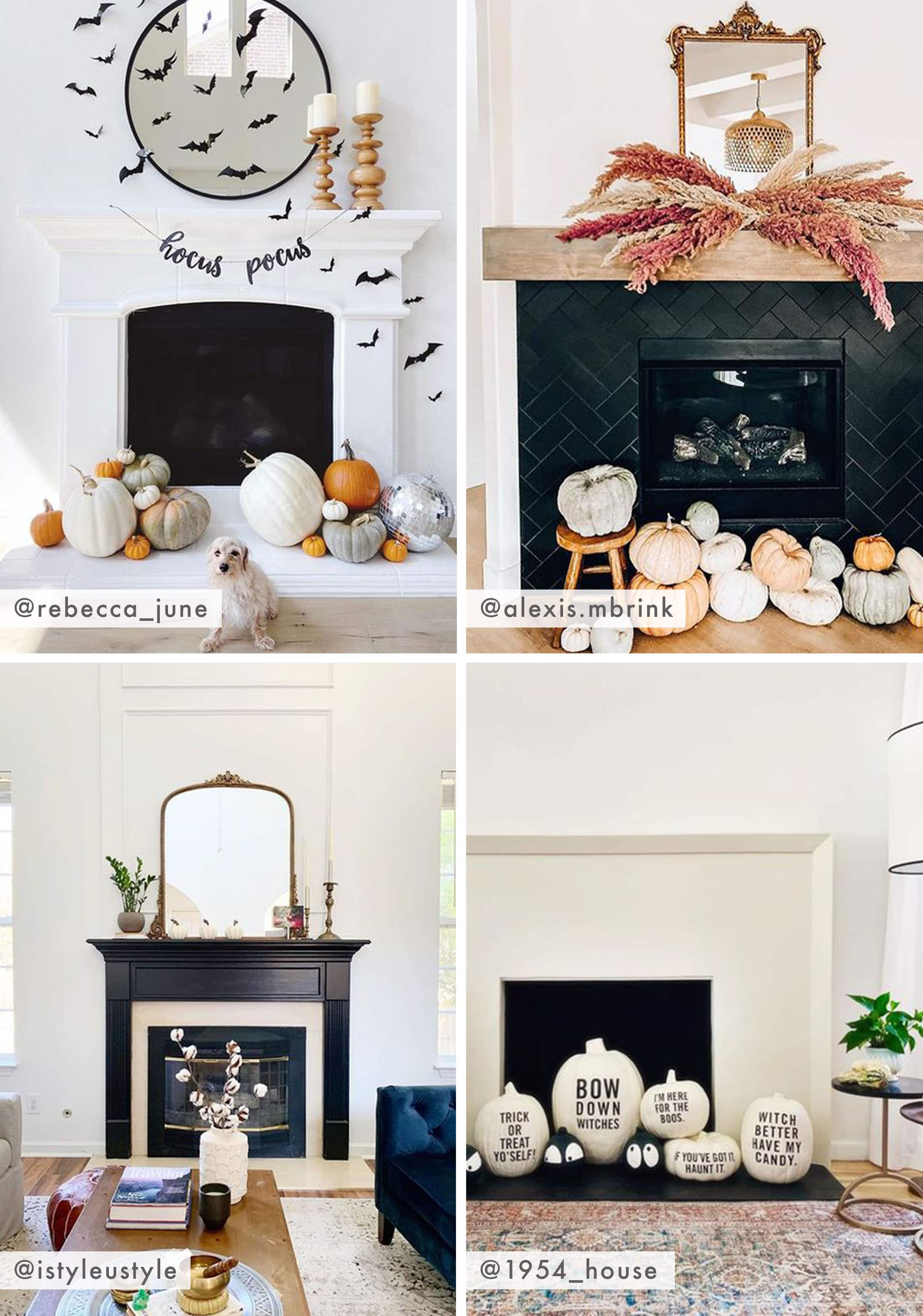 Emily Henderson Showemyourfall Fireplace Mantel 2