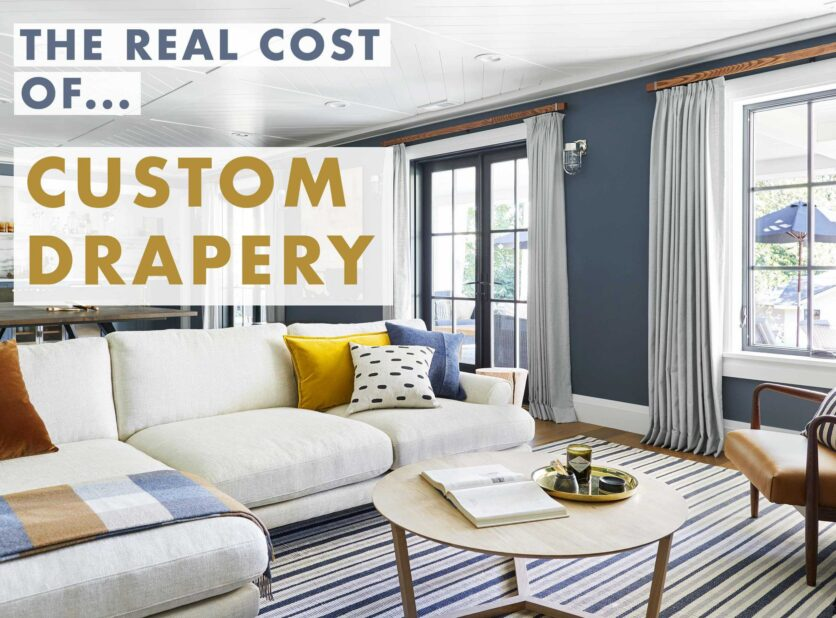 Emily Henderson The Real Cost Custom Drapery Opener