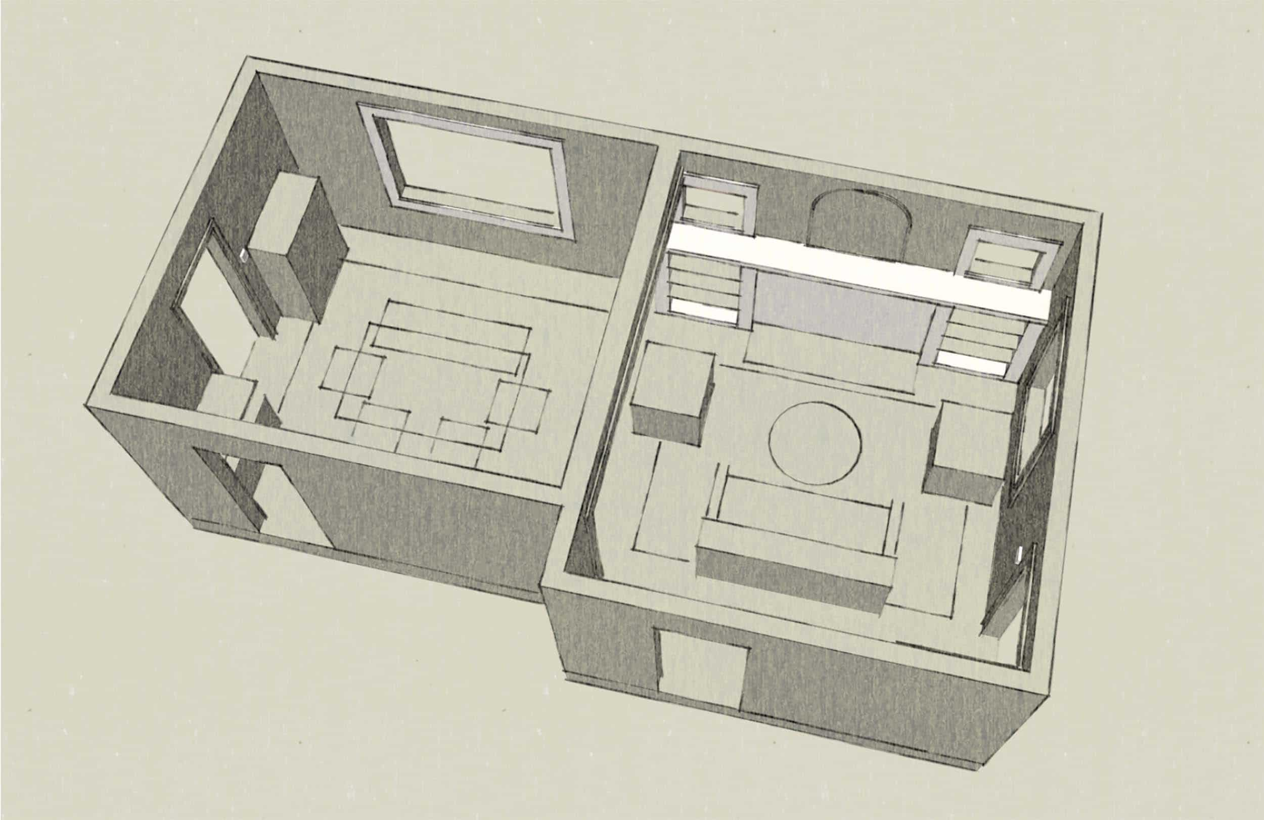Sara & Mac Design Process Layout Idea 1