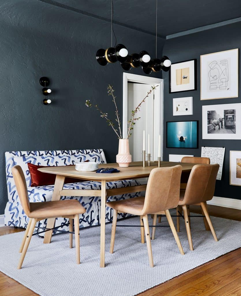 Centered Vase Arlyn's Dining Room2