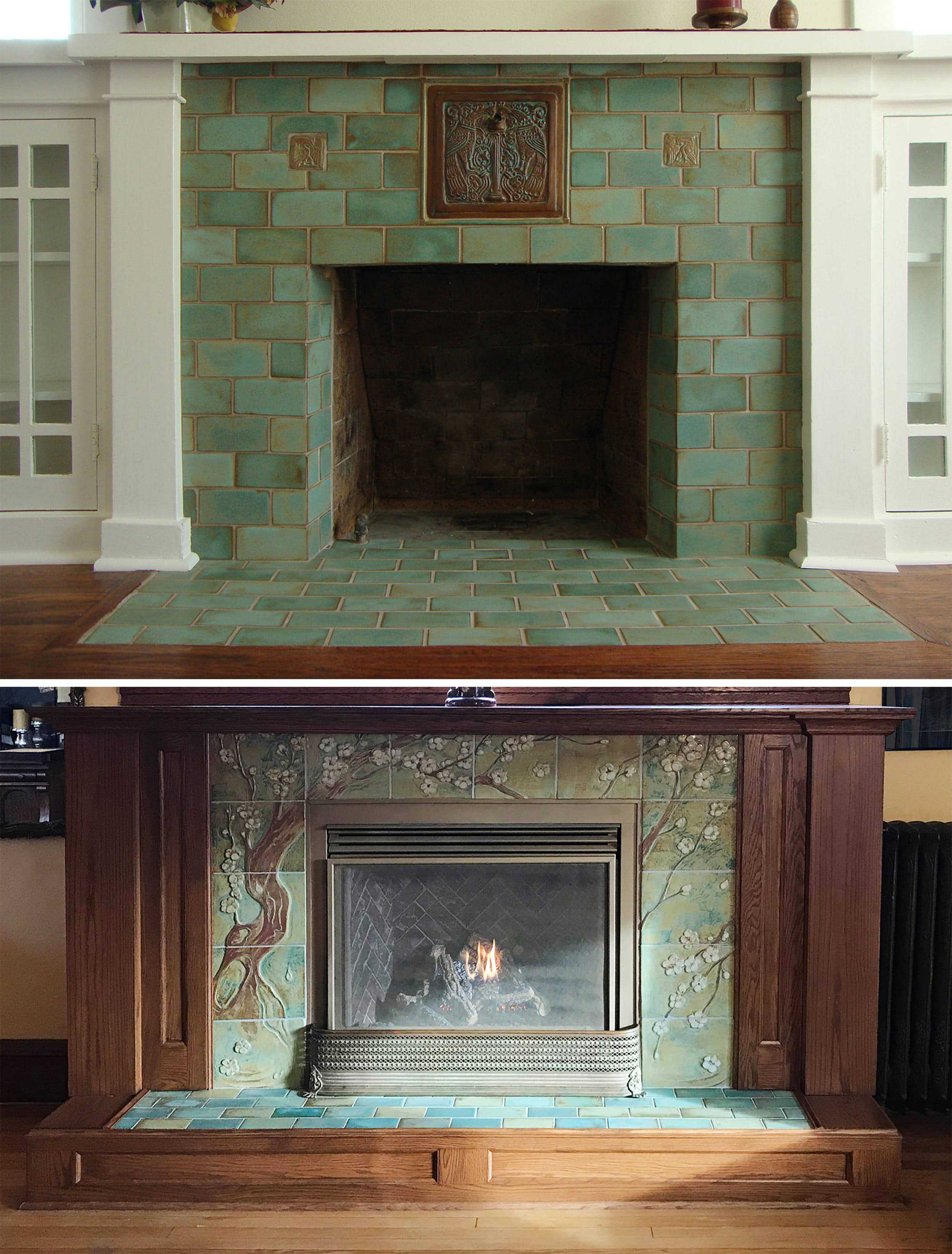 Craftsmanhouse Fireplace