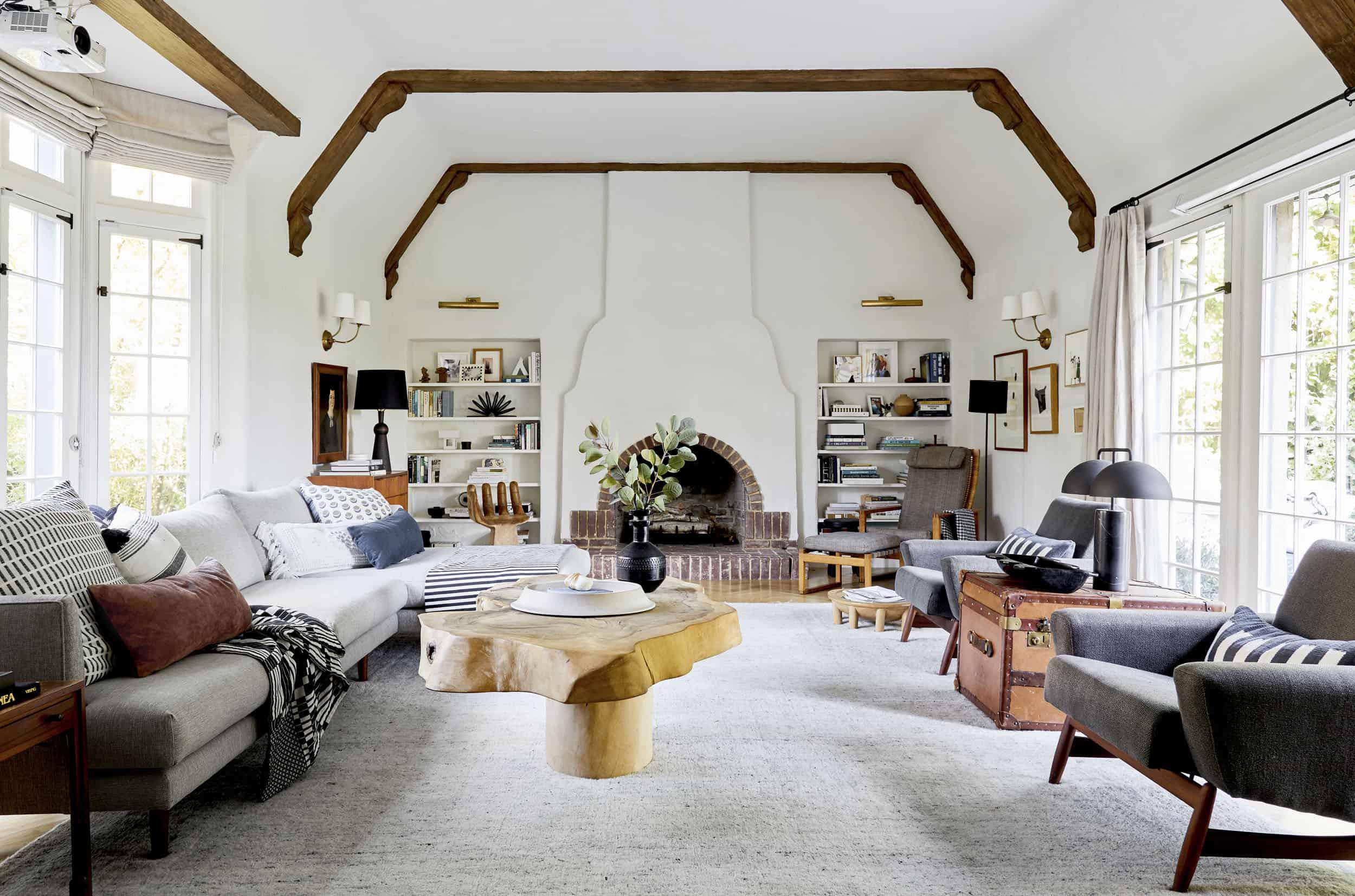 Emily Henderson Living Room Options 17