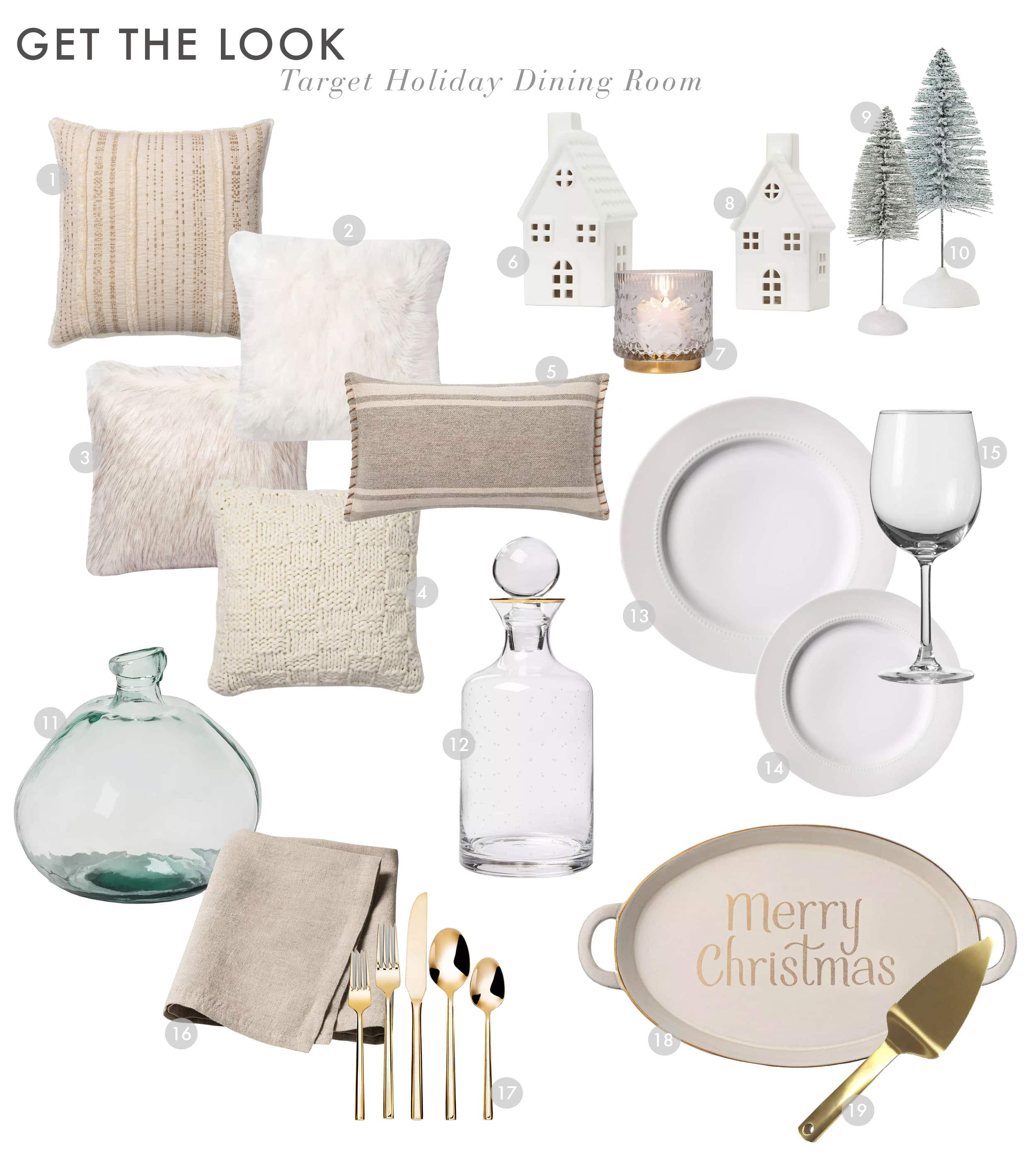 Emily Henderson Target Mountain House Holiday Dining Room 1