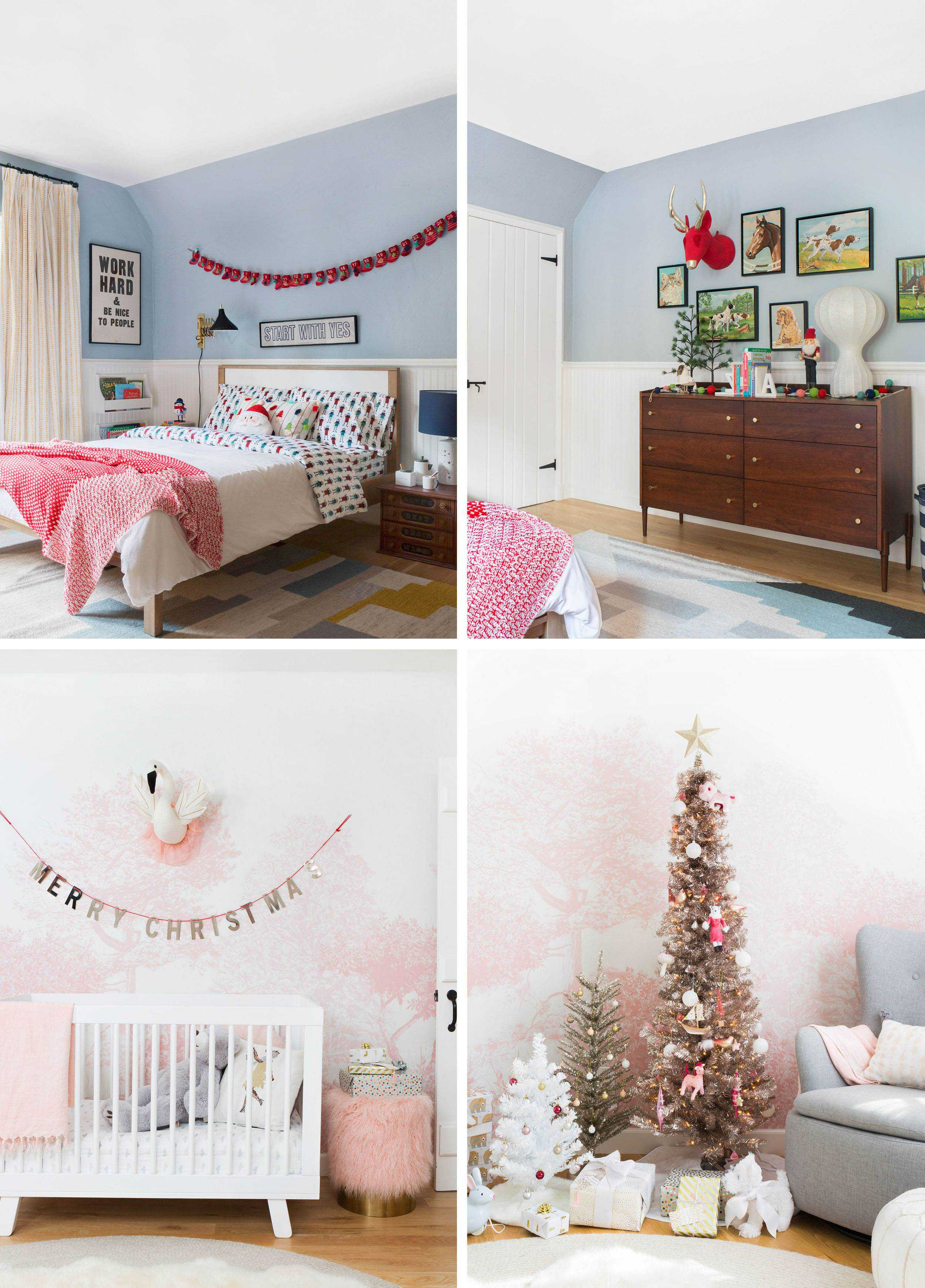 Emily Henderson Holiday Vignettes Kids Rooms