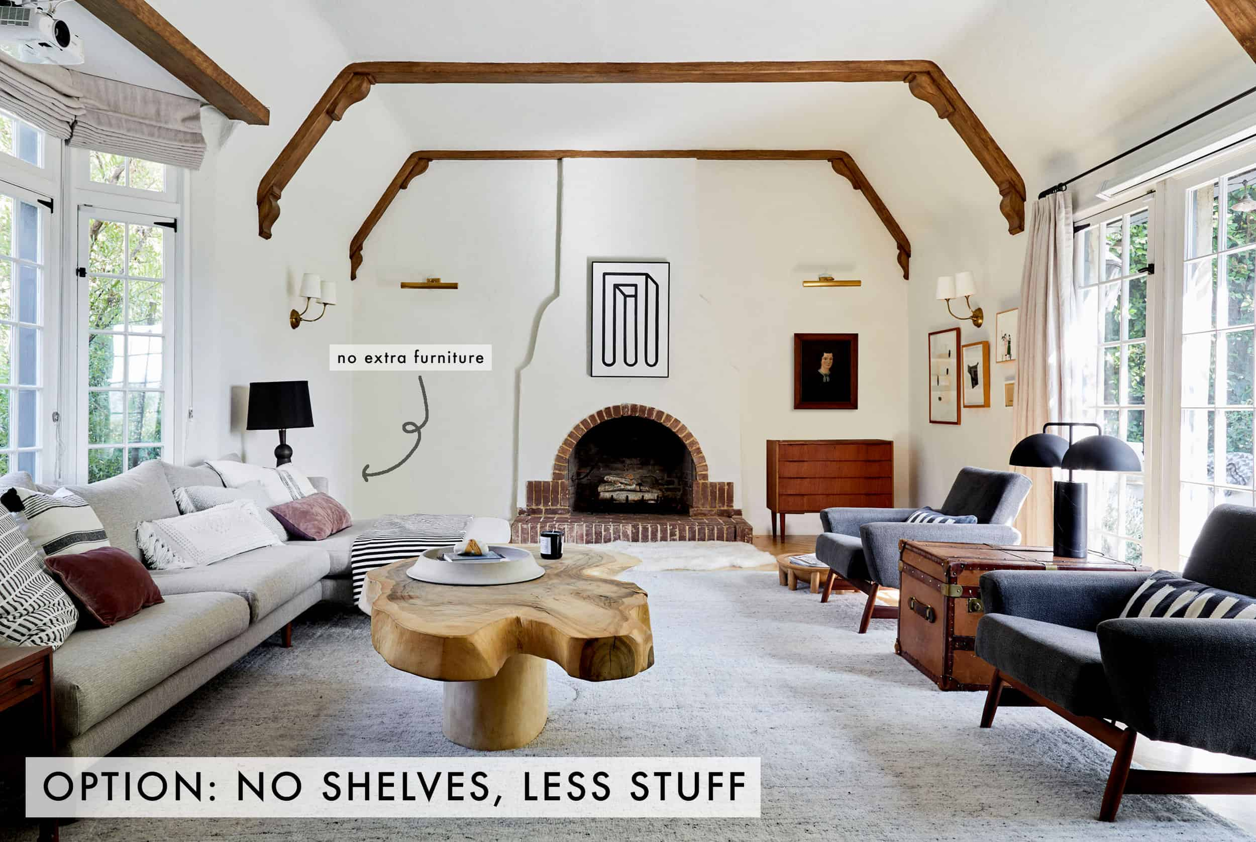 No Shelves No Furniture