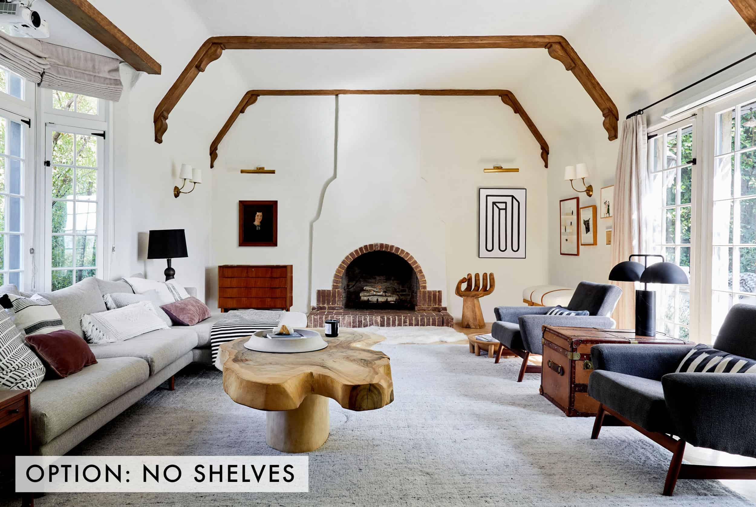No Shelves