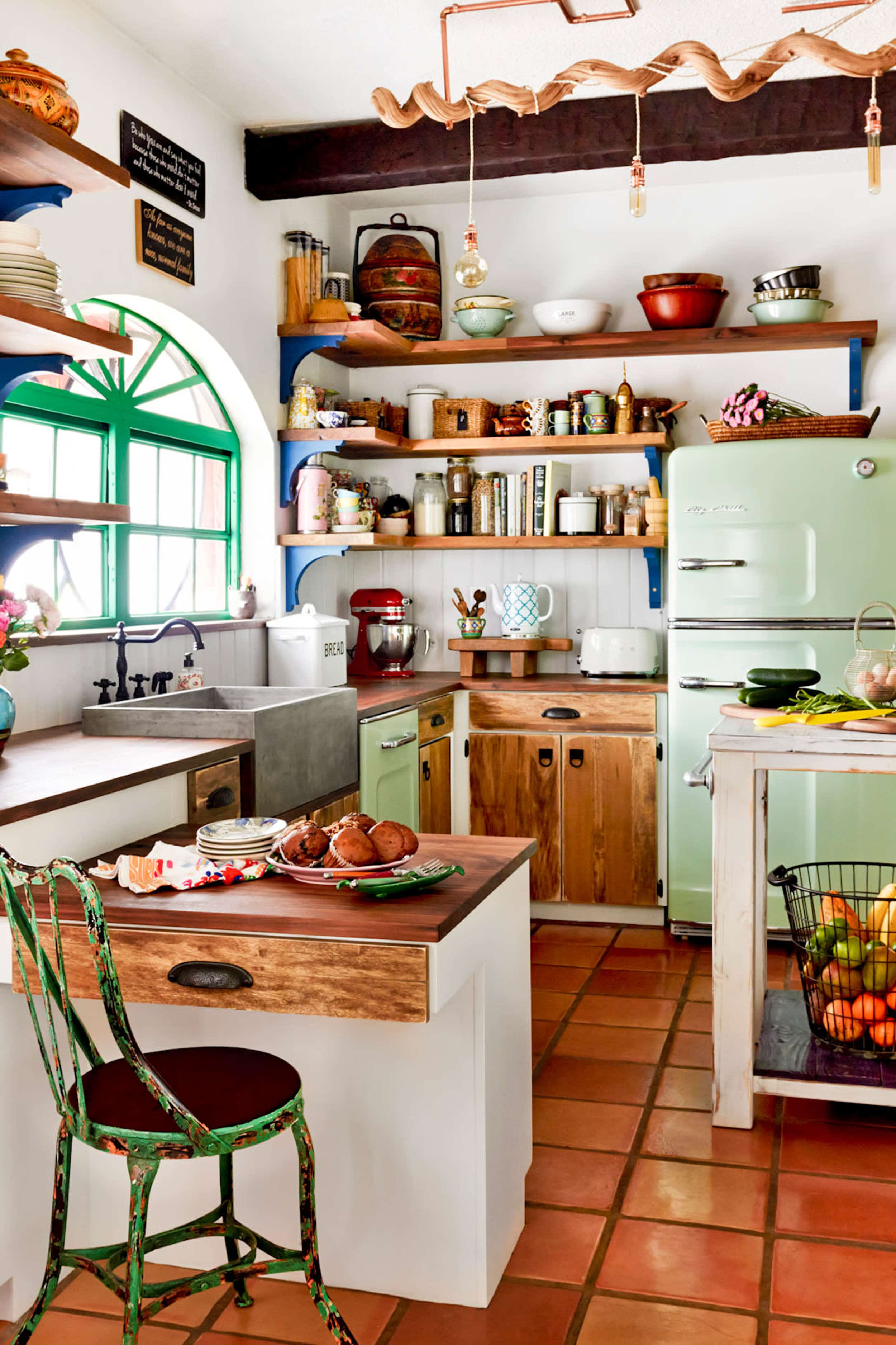 Emily Henderson 2020 Kitchen Trends Colorful Window Frames 1