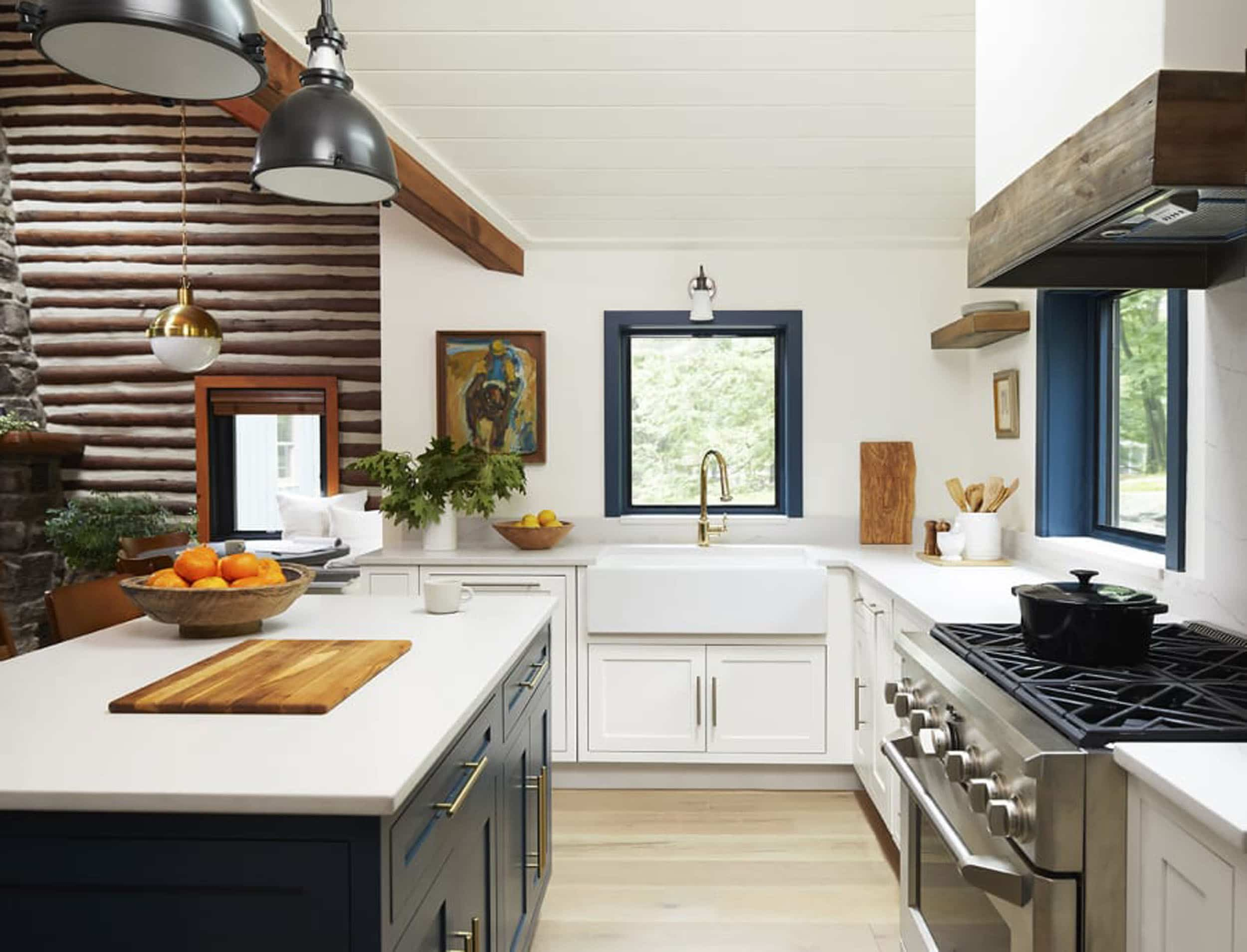 Emily Henderson 2020 Kitchen Trends Colorful Window Frames 2