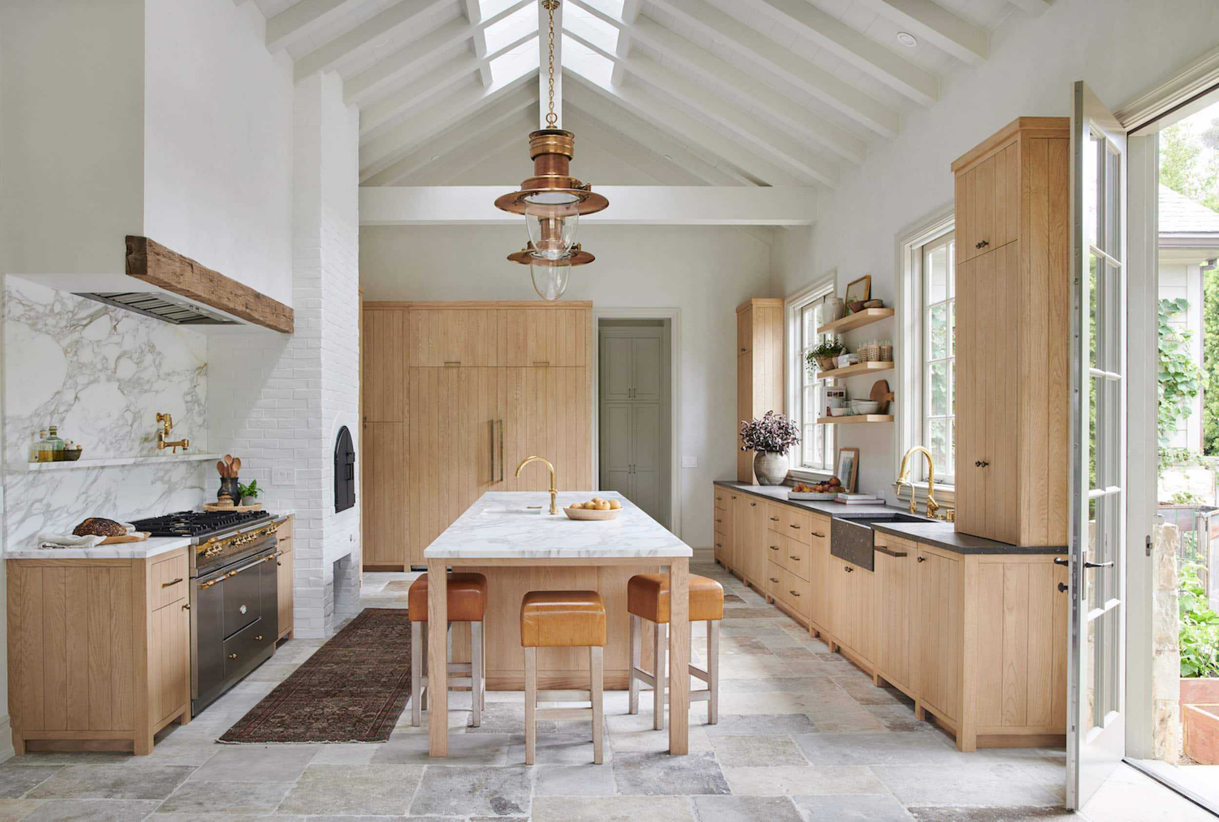 Emily Henderson 2020 Kitchen Trends Tumbled Tile 2