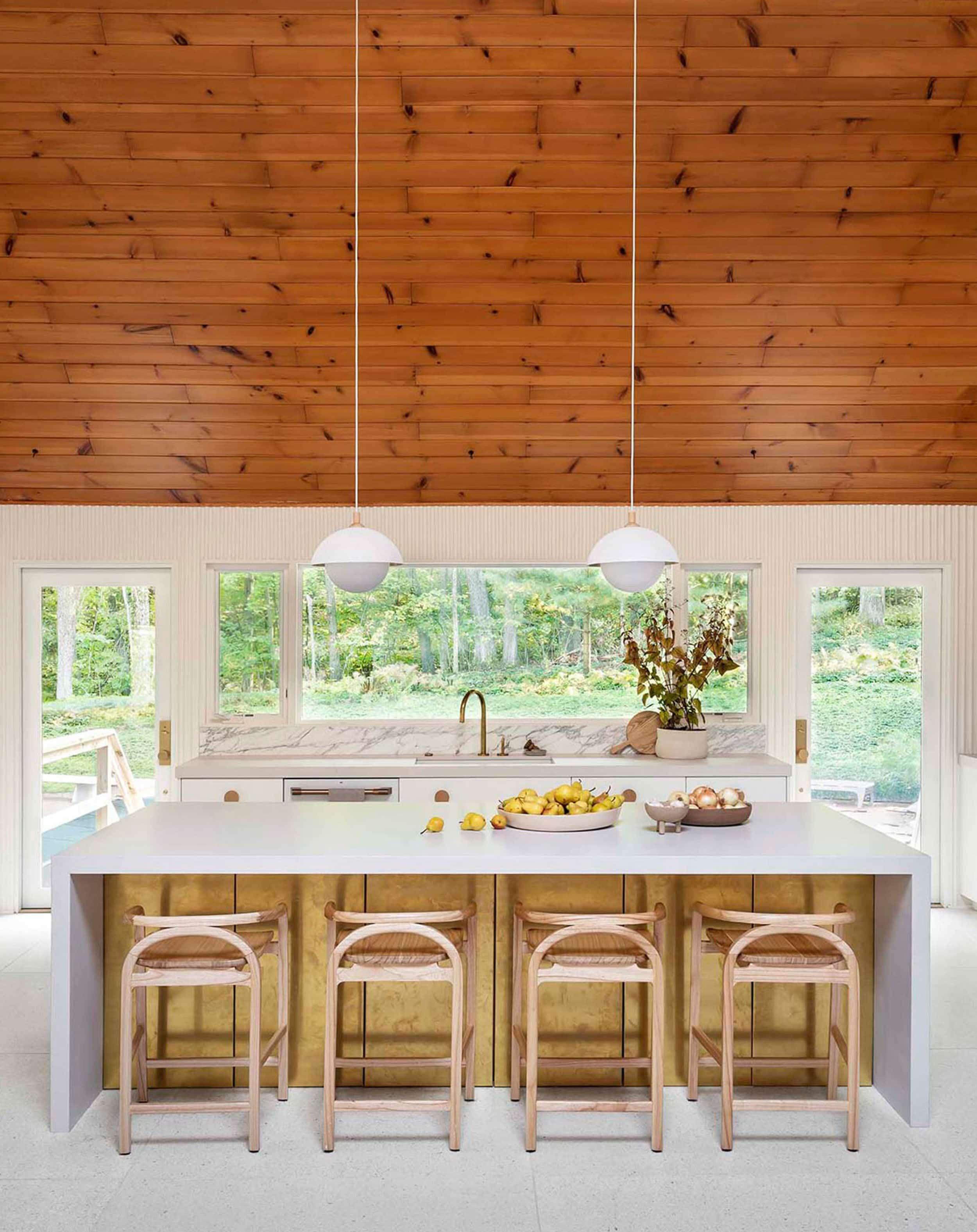 Emily Henderson 2020 Kitchen Trends Warm Wood 1